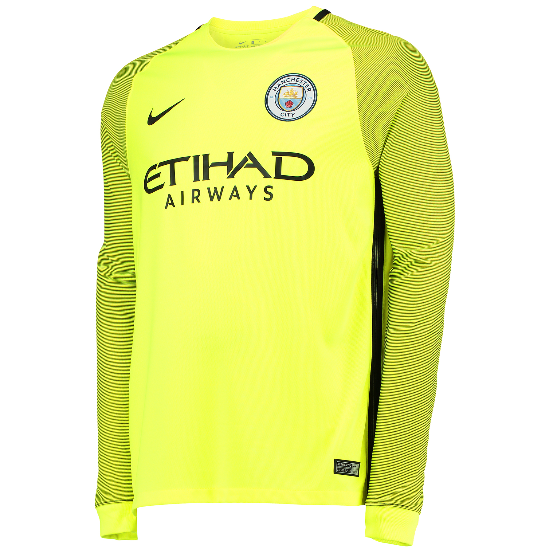 Manchester City Stadium Goalkeeper Shirt 2016-17