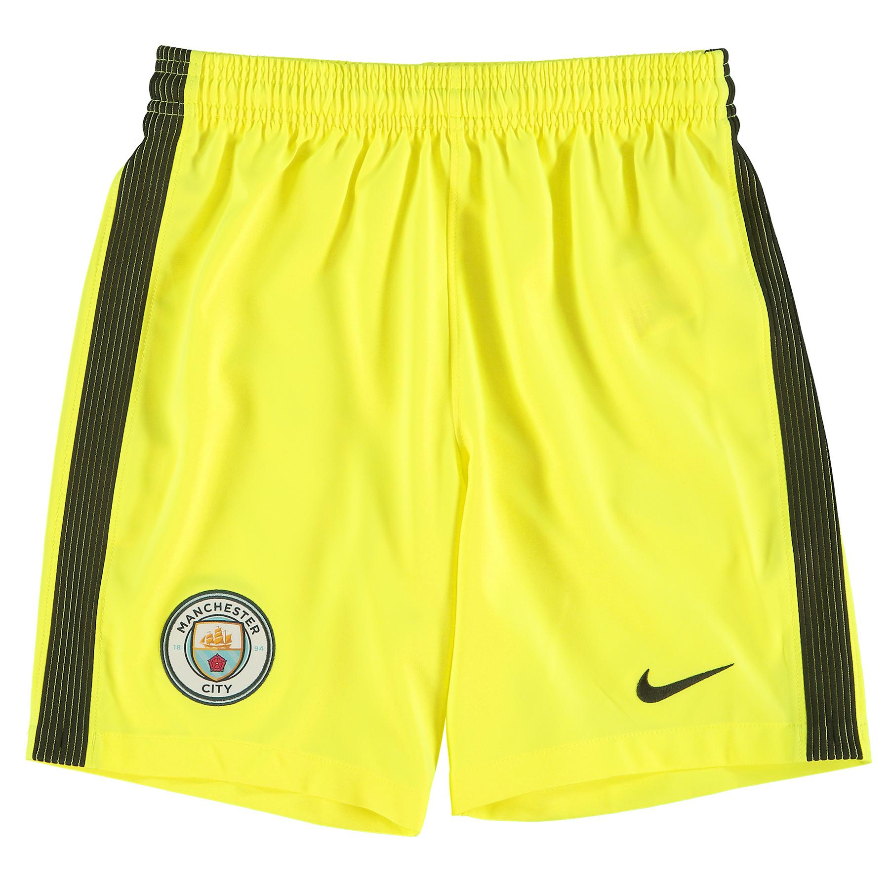Manchester City Stadium Goalkeeper Shorts 2016-17 - Kids