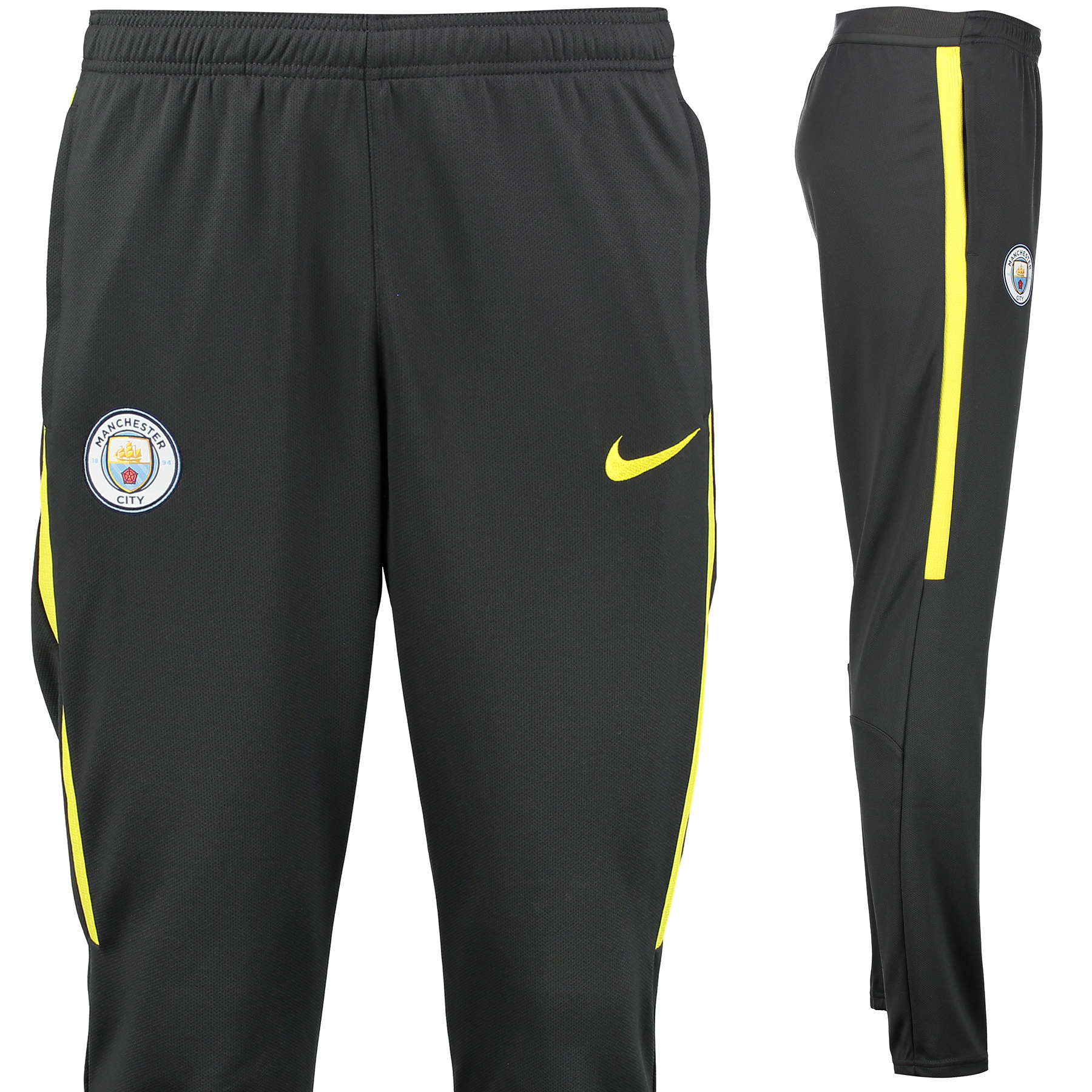 Manchester City Strike Aeroswift Track Pant - Dark Grey