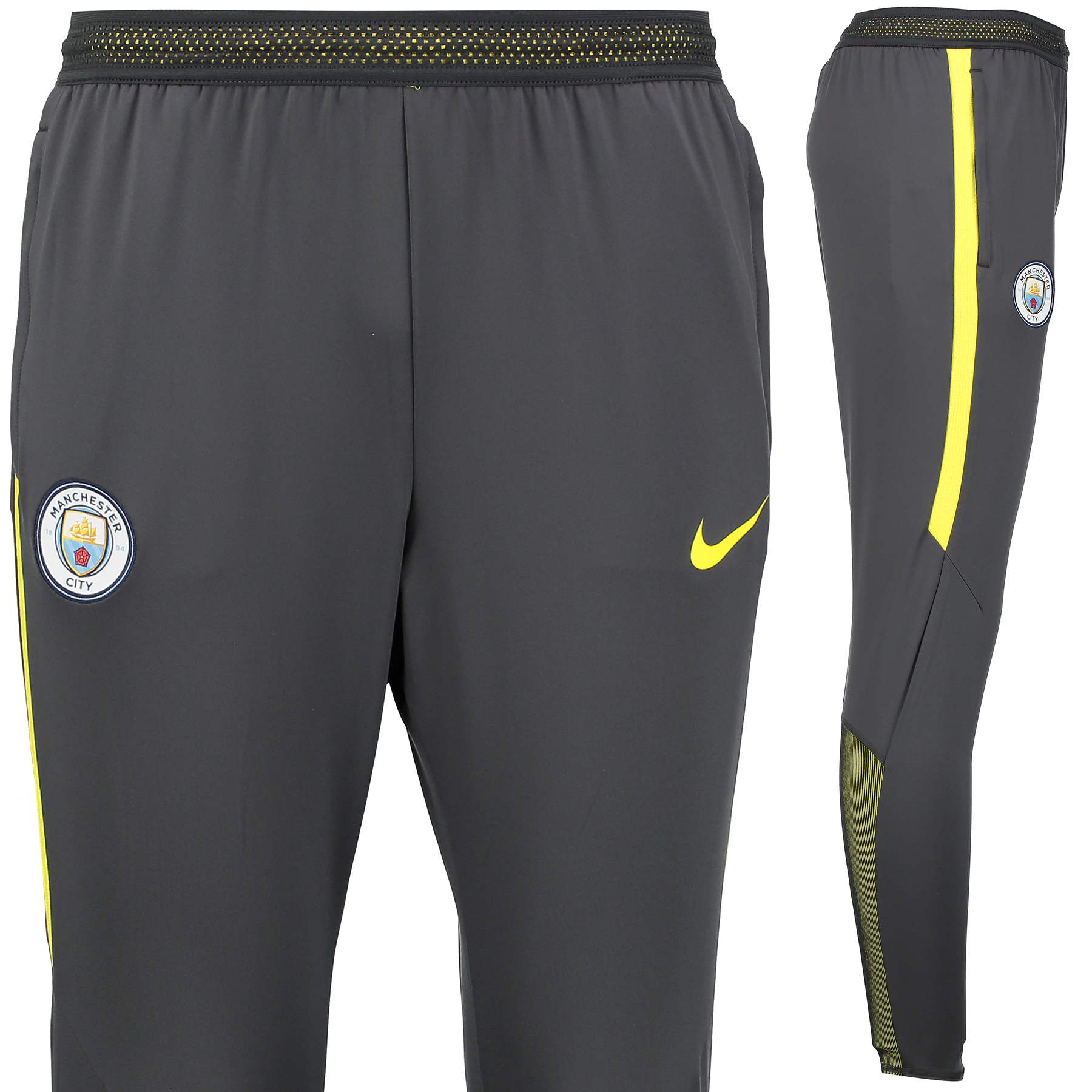 Manchester City Strike Aeroswift Pant - Dark Grey