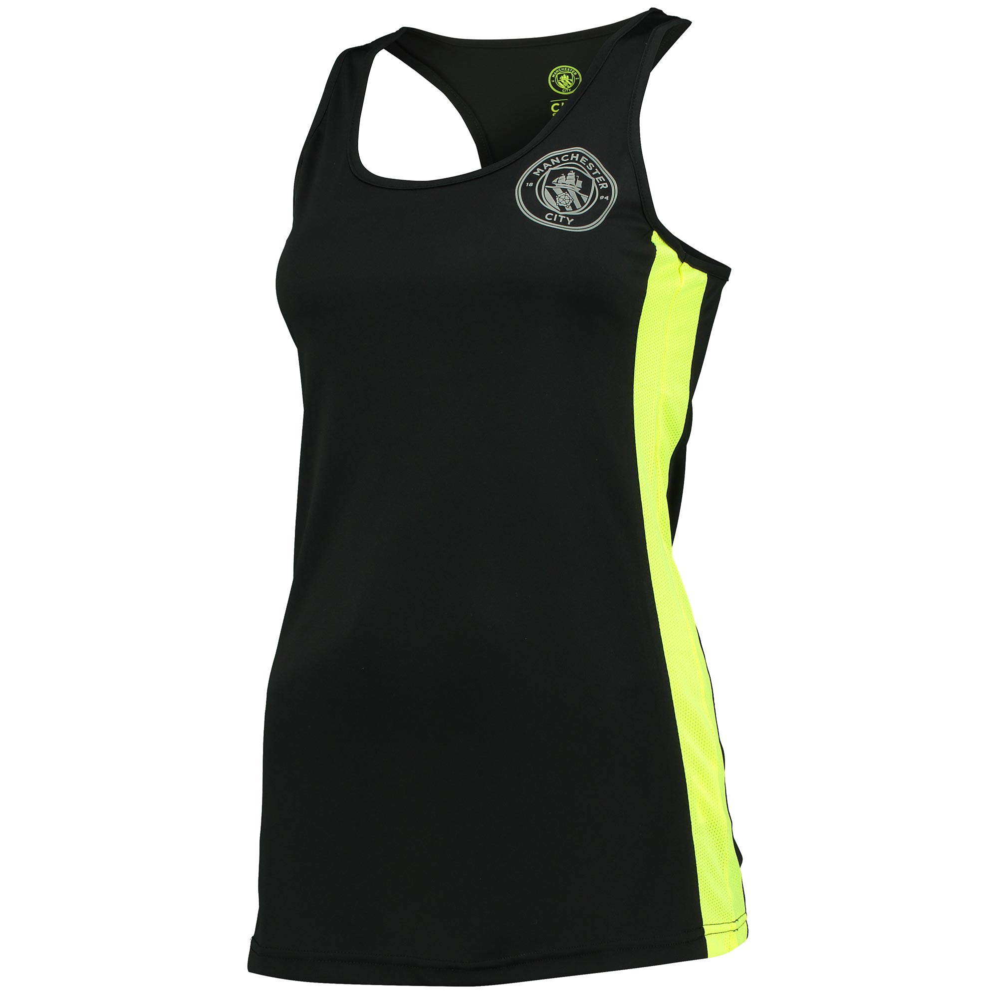 Manchester City Sport Poly Vest - Black - Womens