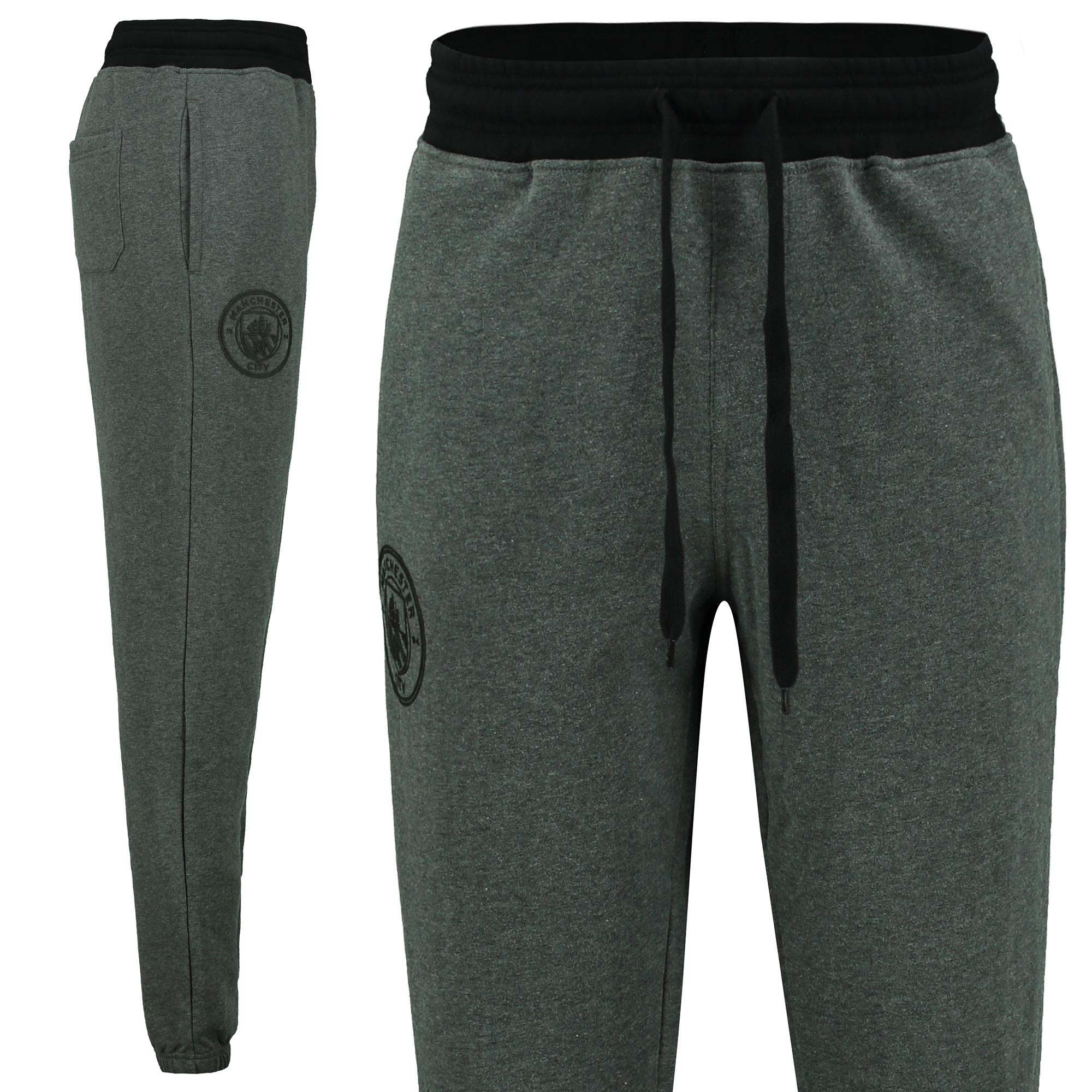 Manchester City Classic Slim Fit Jogger - Grey