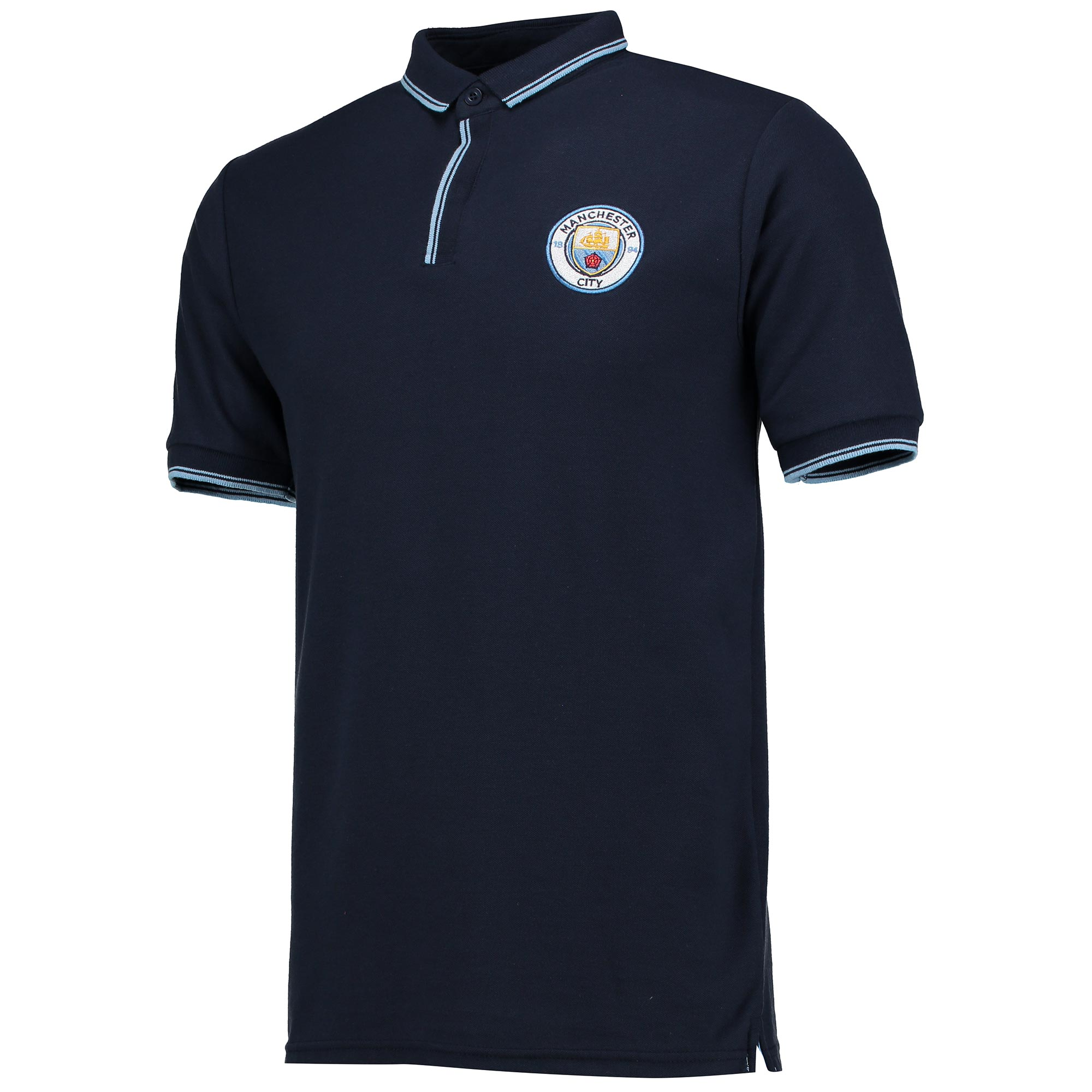 Manchester City Classic Slim Fit Polo Shirt - Navy