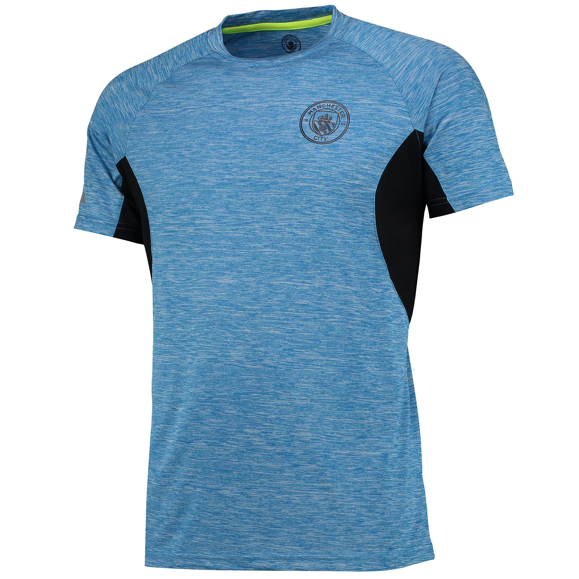 Manchester City Sport Poly T-Shirt - Blue