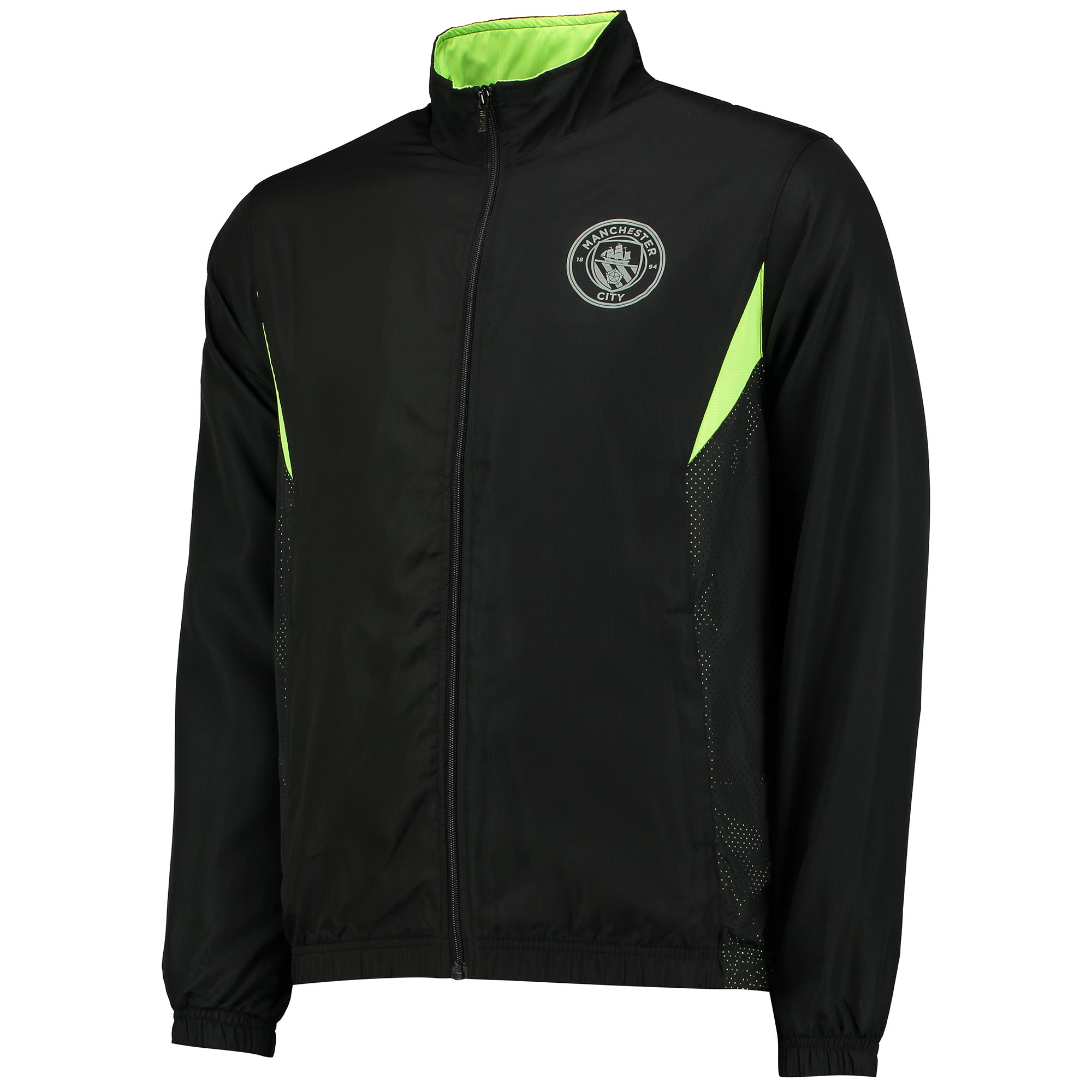 Manchester City Sport Woven Track Jacket - Black