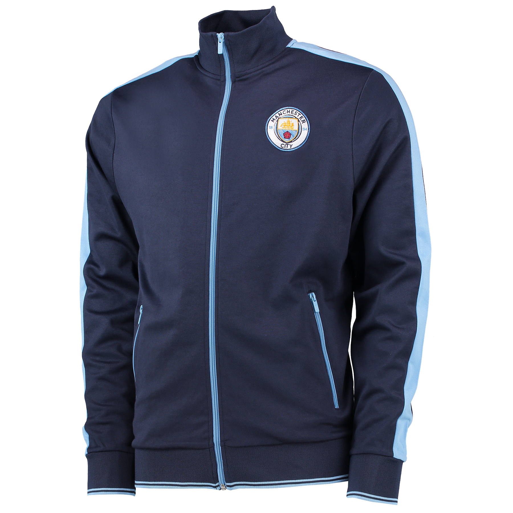 Manchester City Classic Tricot Track Jacket - Navy