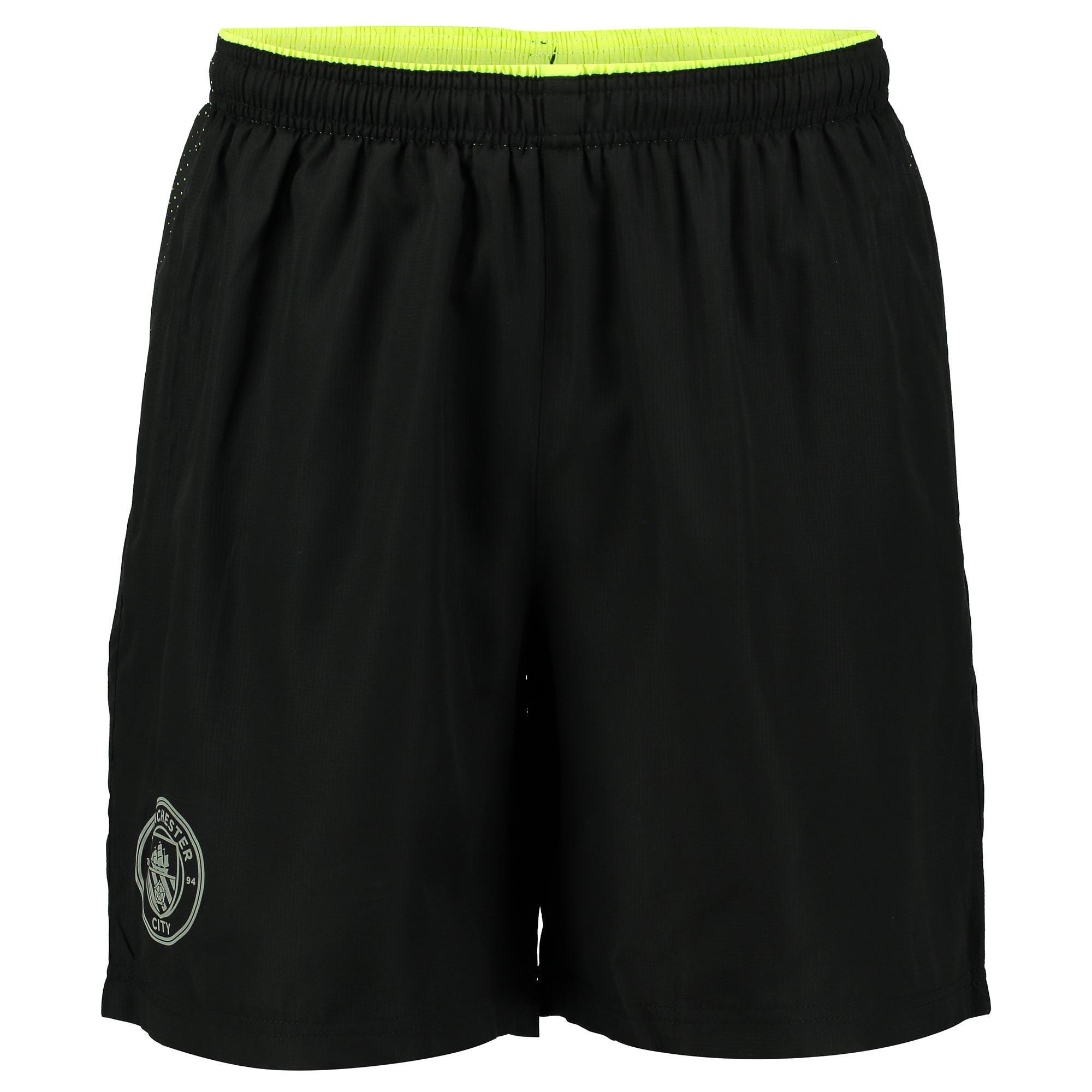 Manchester City Sport Woven Shorts - Black