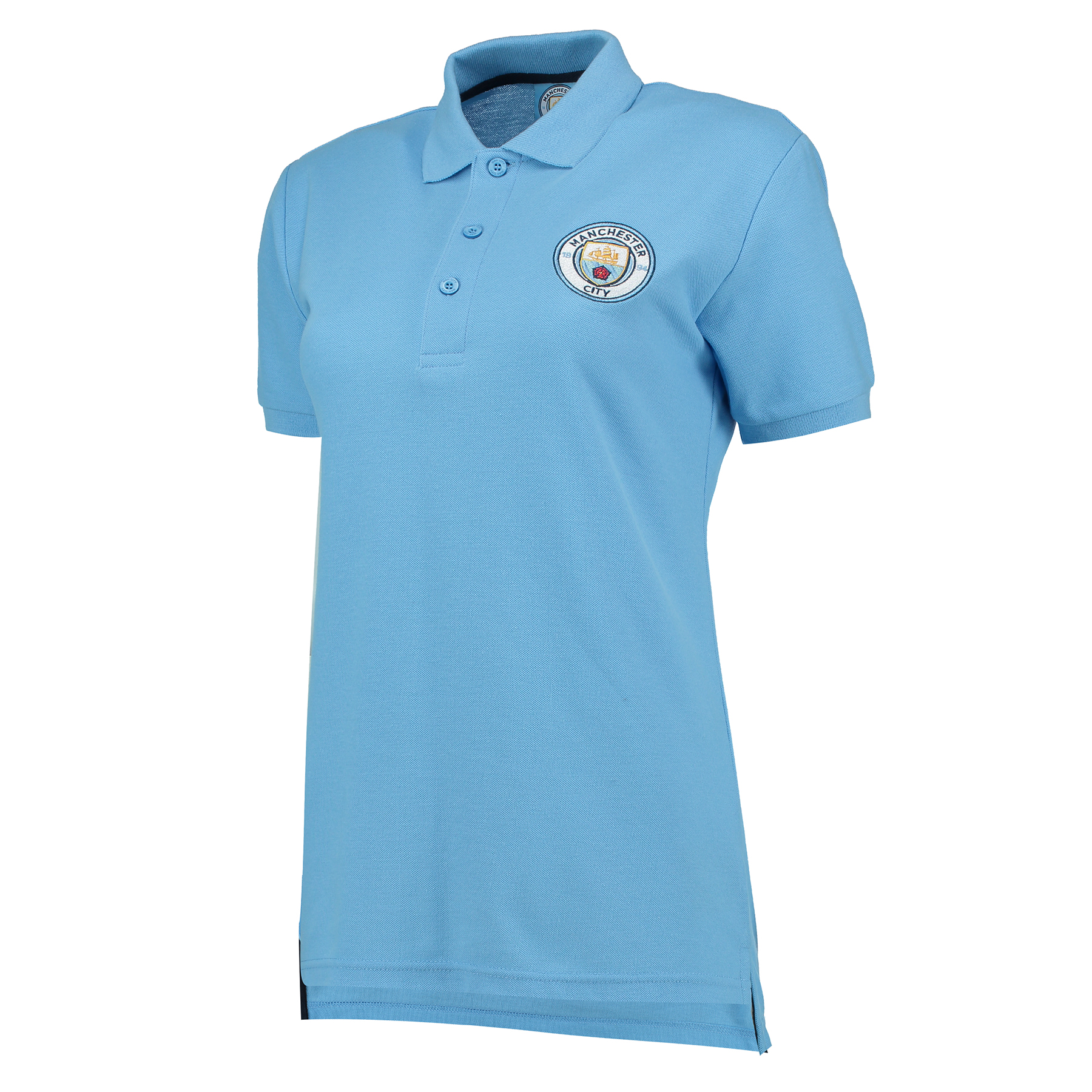 Manchester City Classic Polo - Sky - Womens