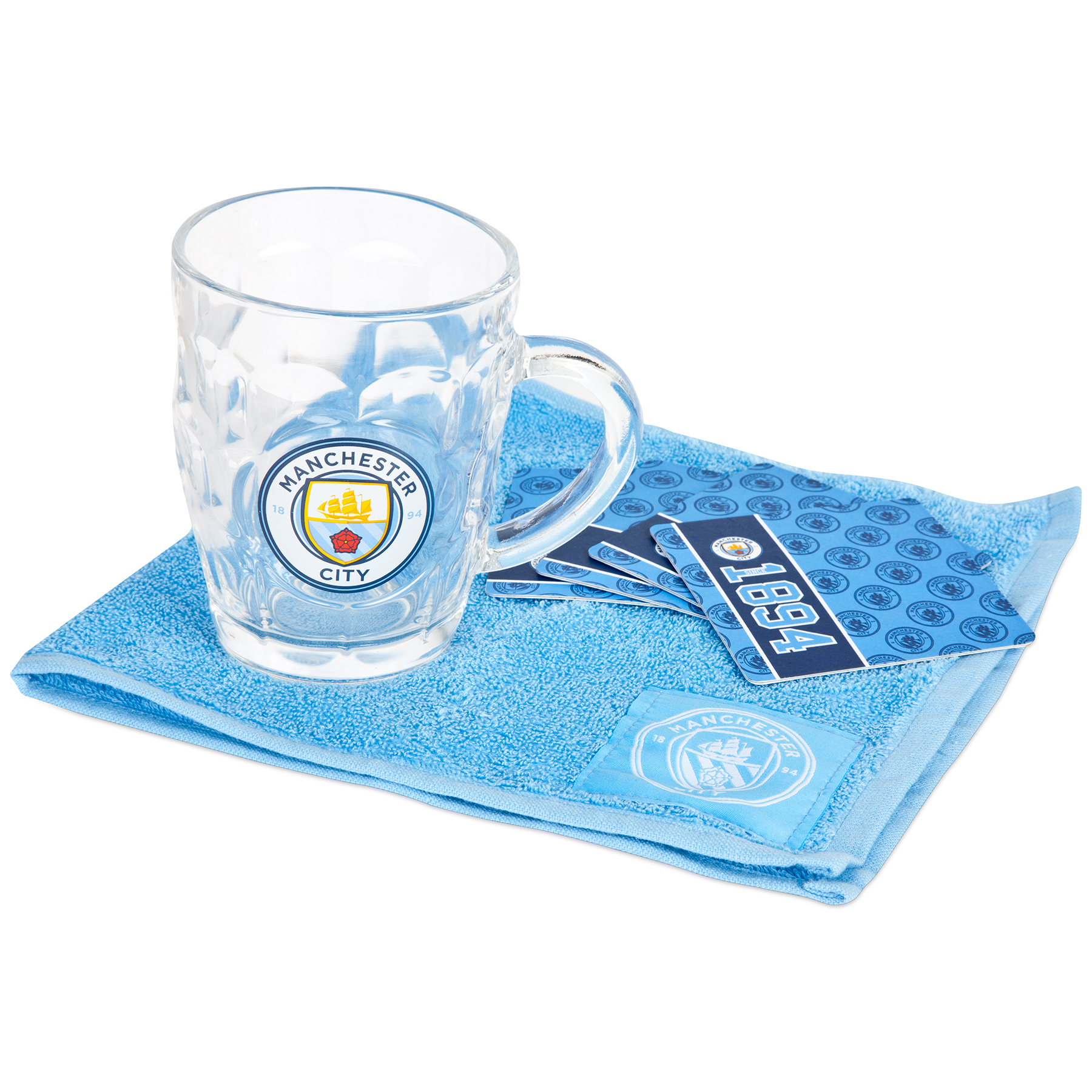 Manchester City Dimple Mini Bar Set