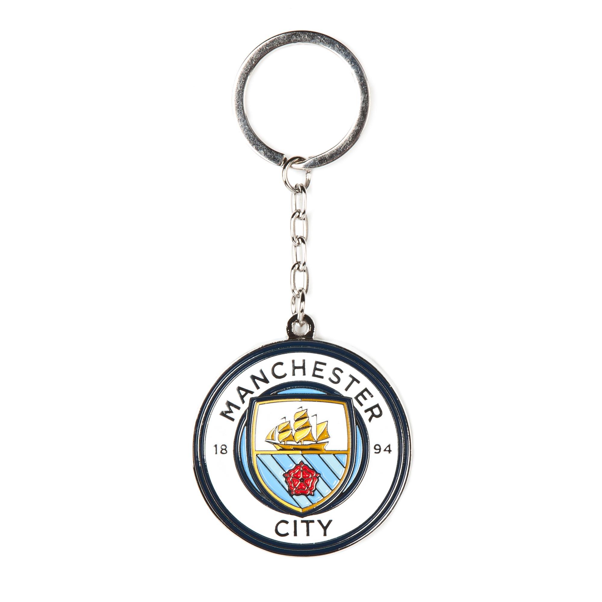 Manchester City Crest Keyring