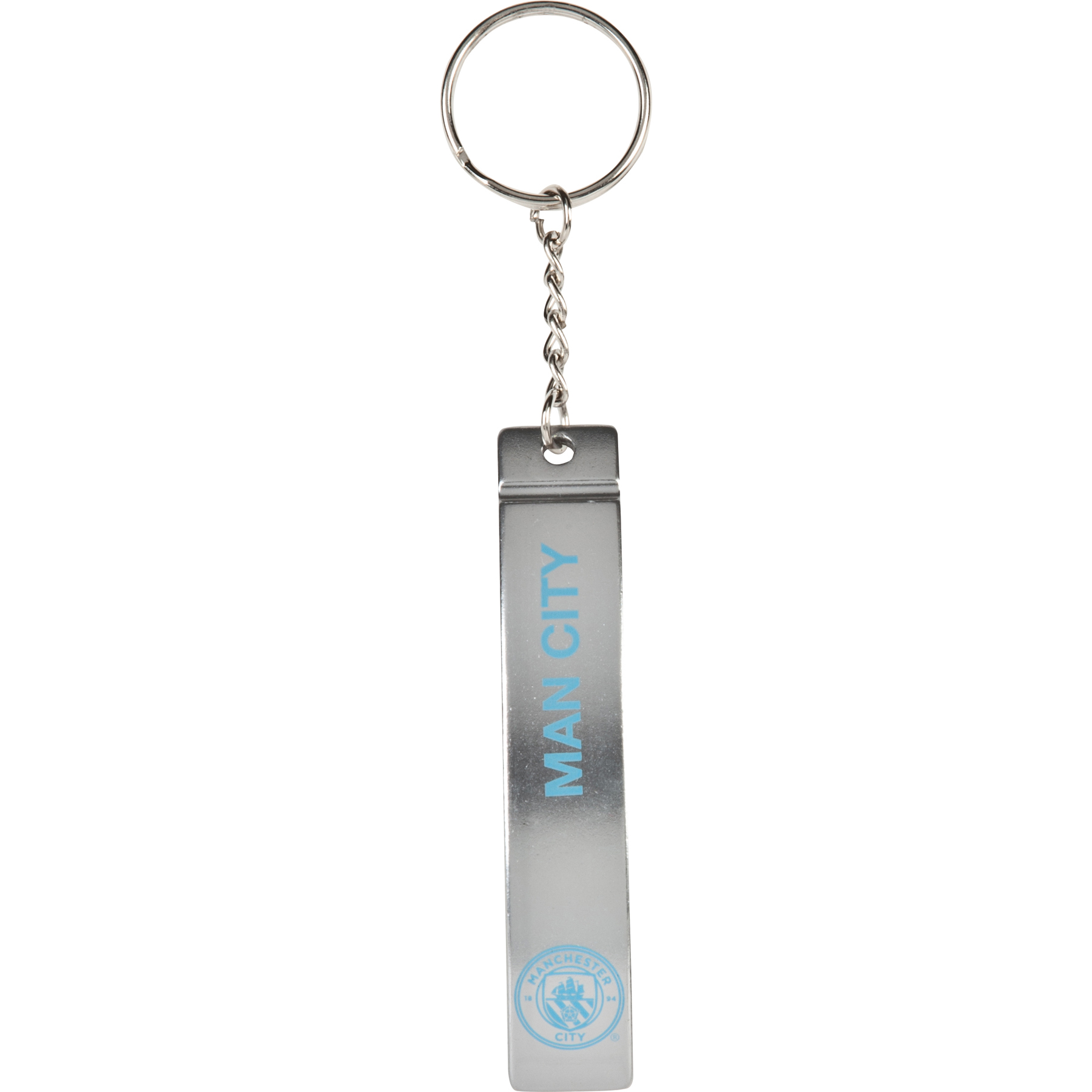 Manchester City Sleek Bottle Opener Keyring