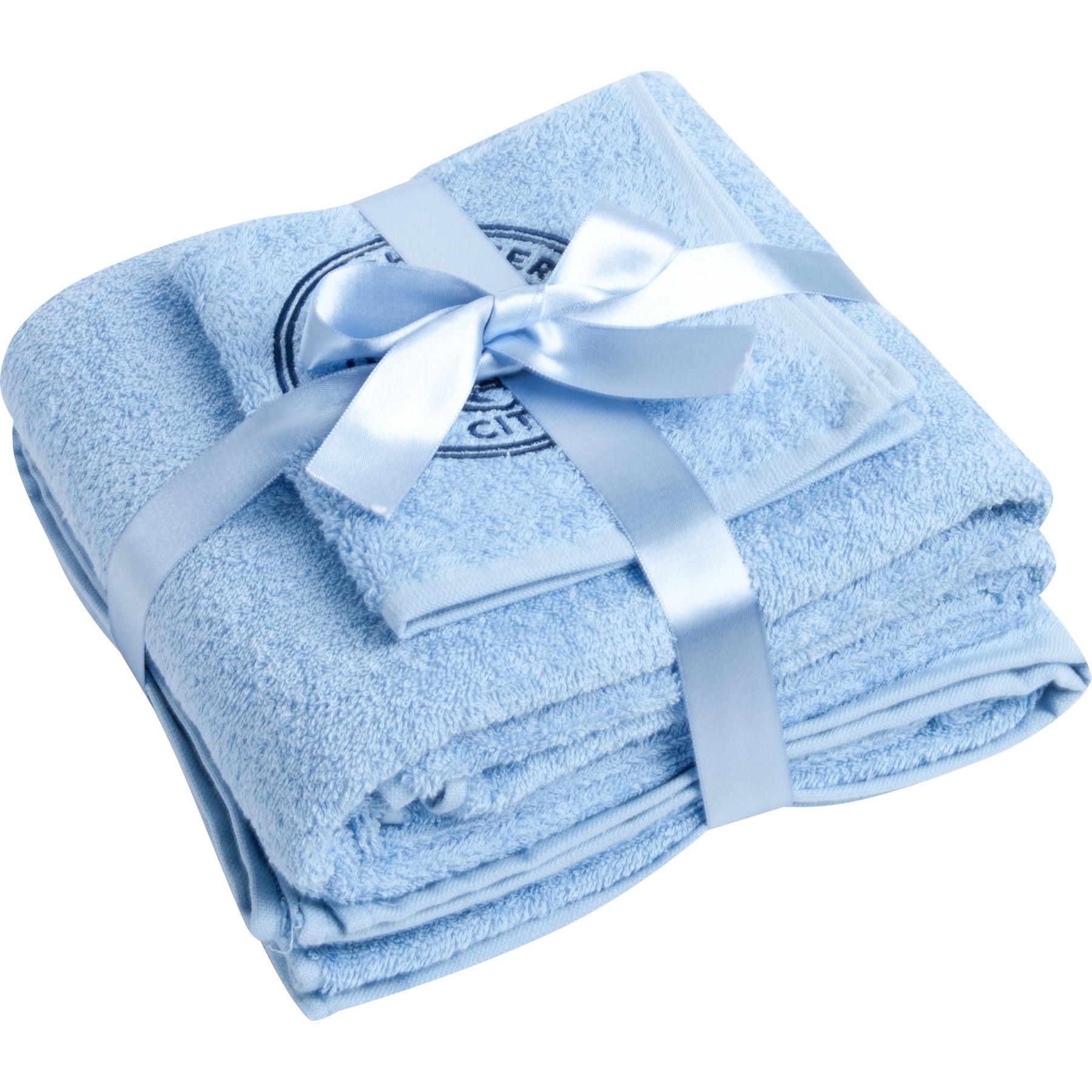 Manchester City Jaquard Towel Set