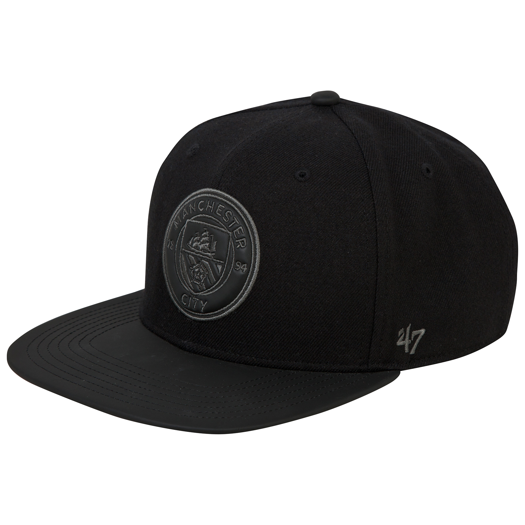 Manchester City 47 Captain Cap - Black