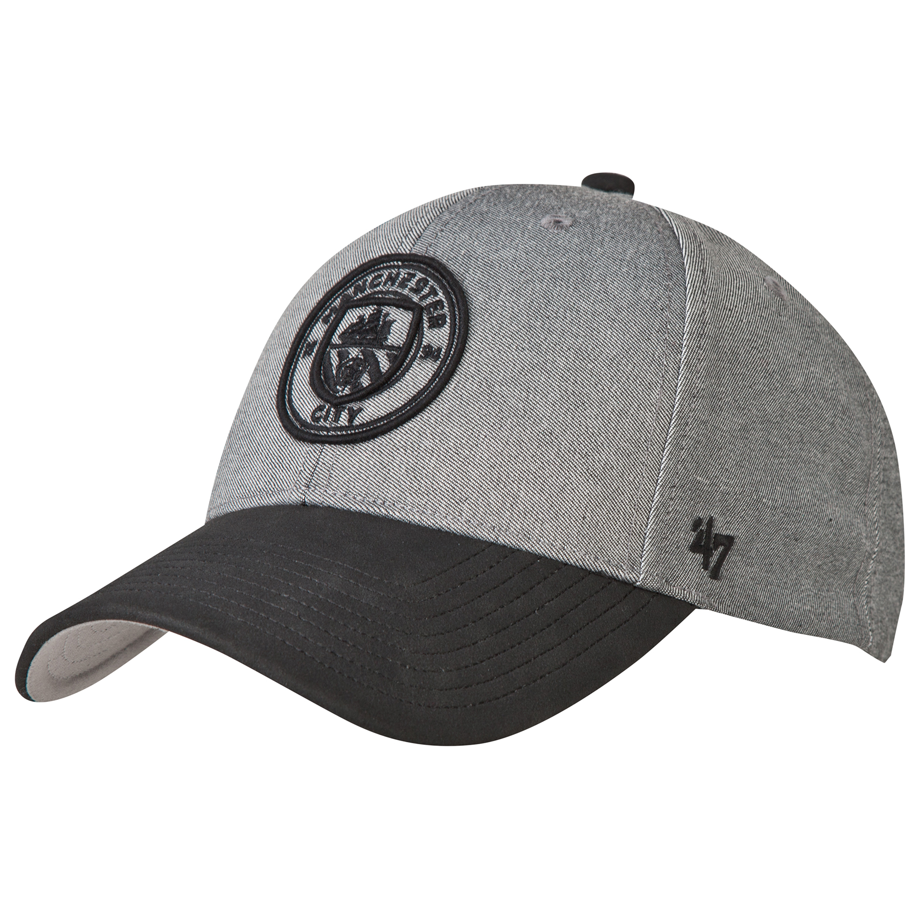 Manchester City 47 MVP Cap - Grey/Black