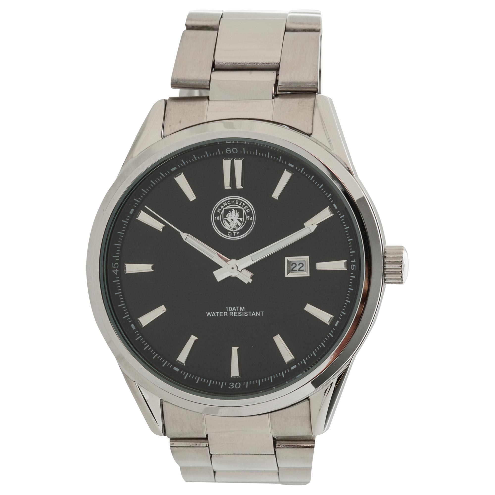 Manchester City Stainless Steel Bracelet Watch