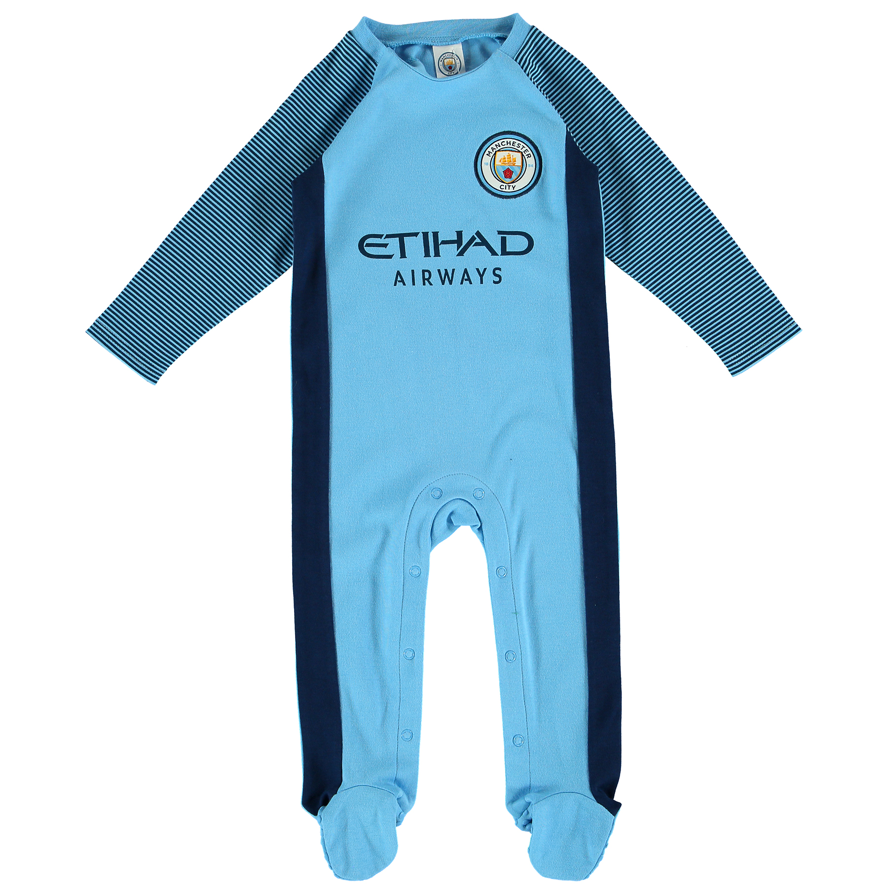 Manchester City Kit Sleepsuit - Baby