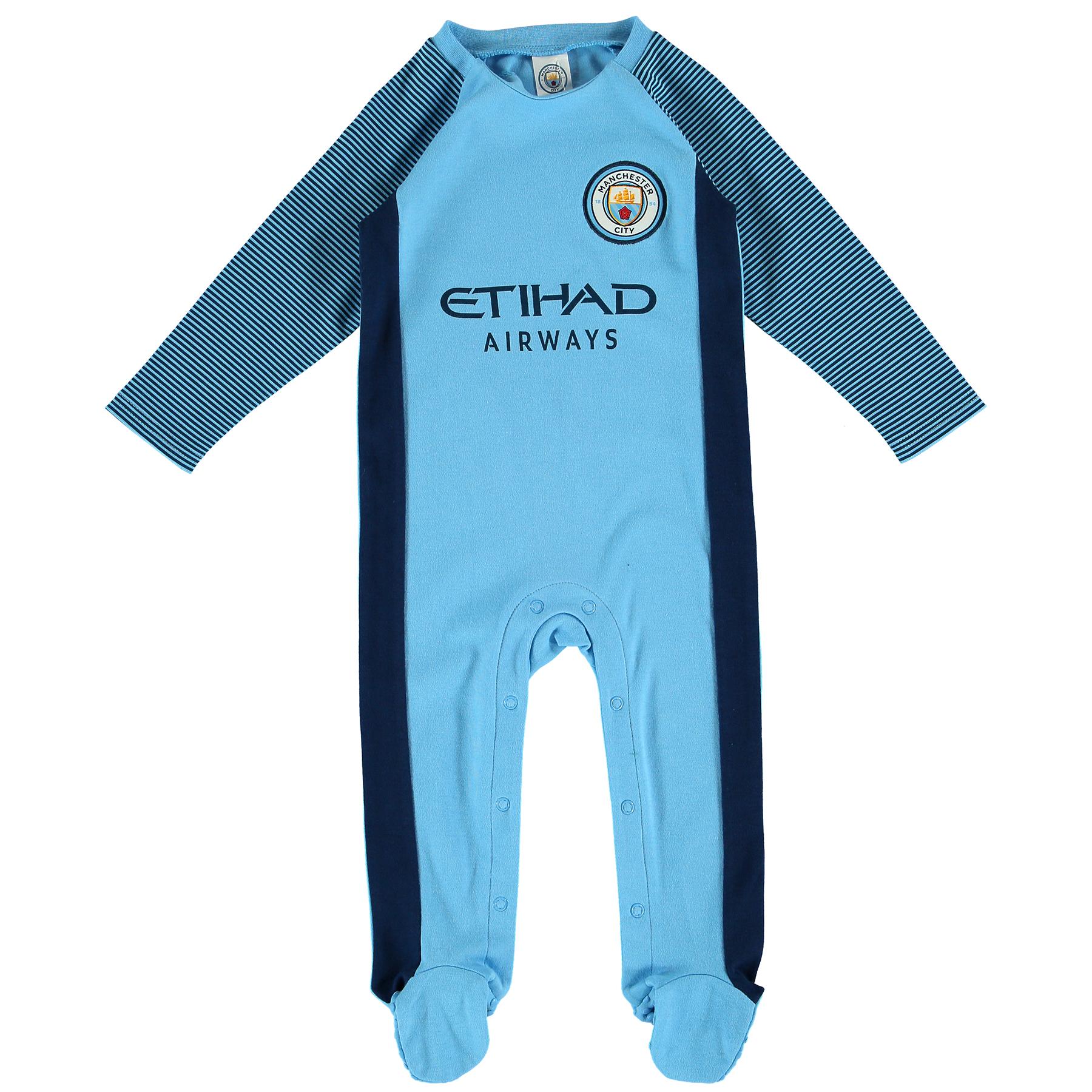 Manchester City Kit Sleepsuit - Baby