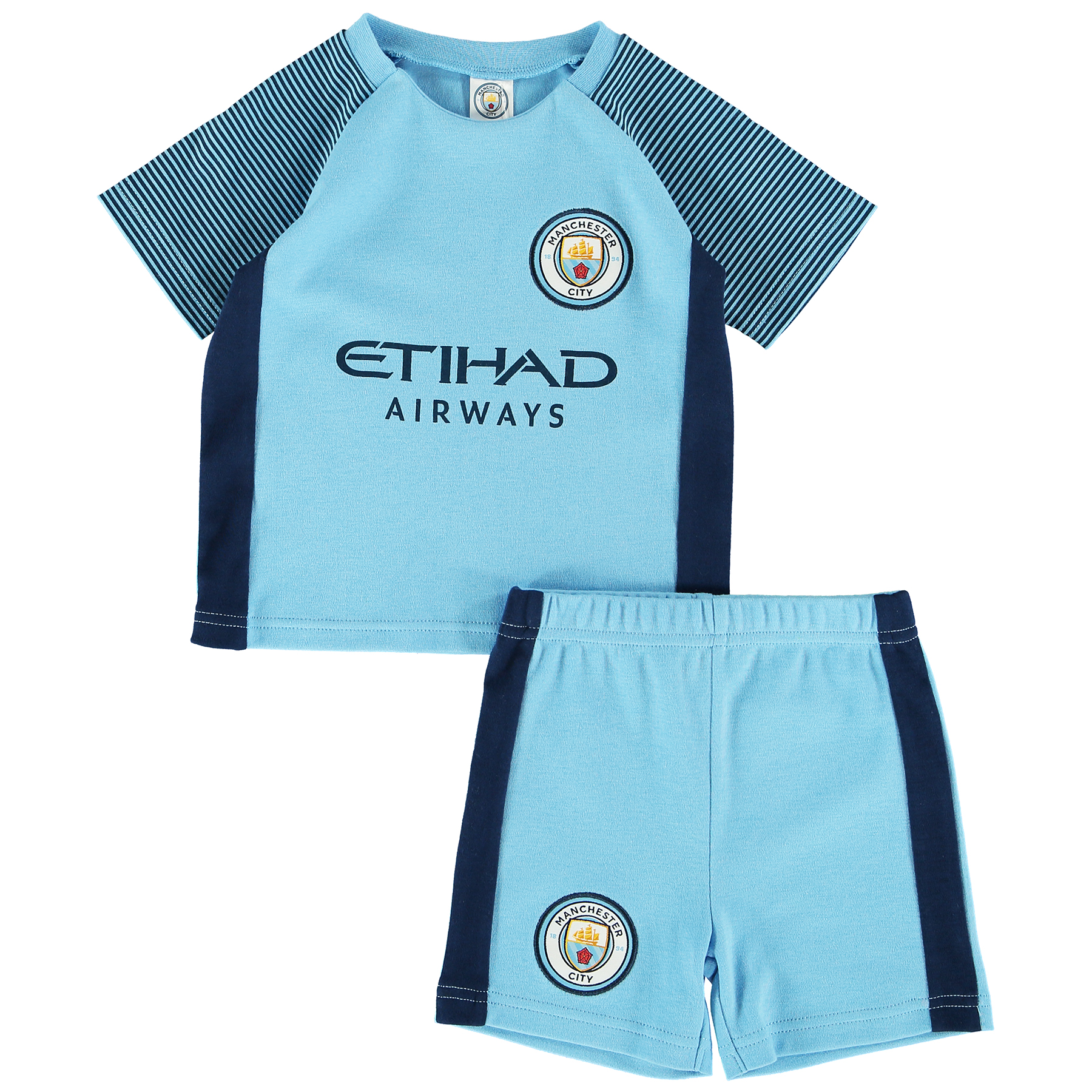 Manchester City Kit T-Shirt and Short Set - Baby