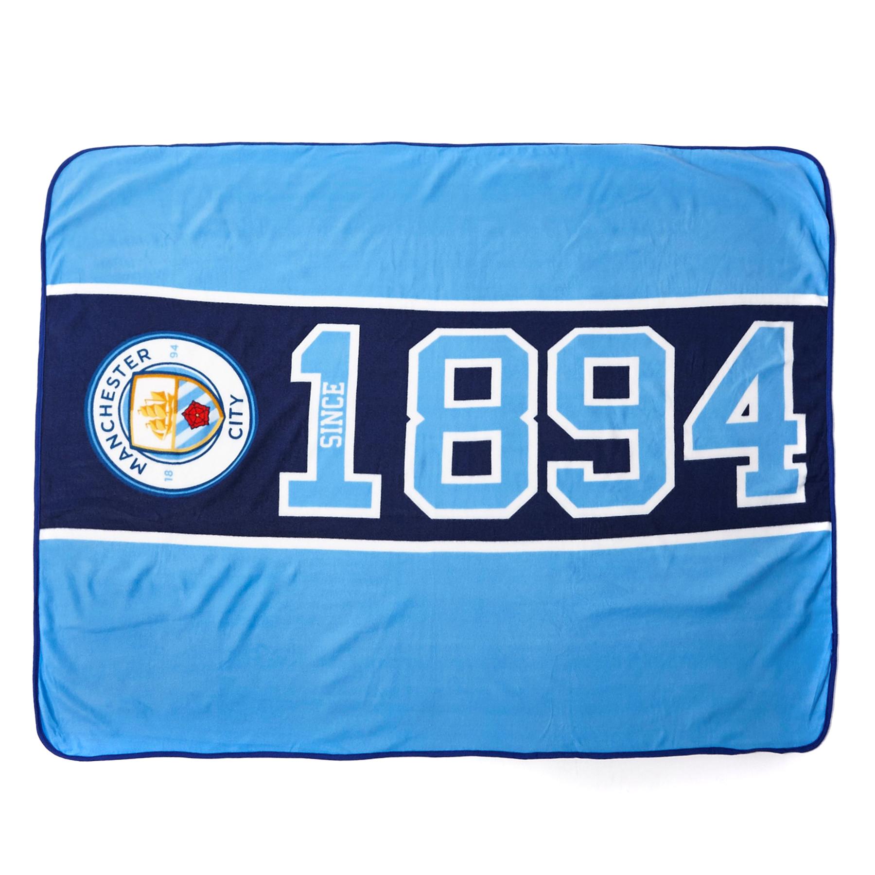 Manchester City Established Fleece Blanket