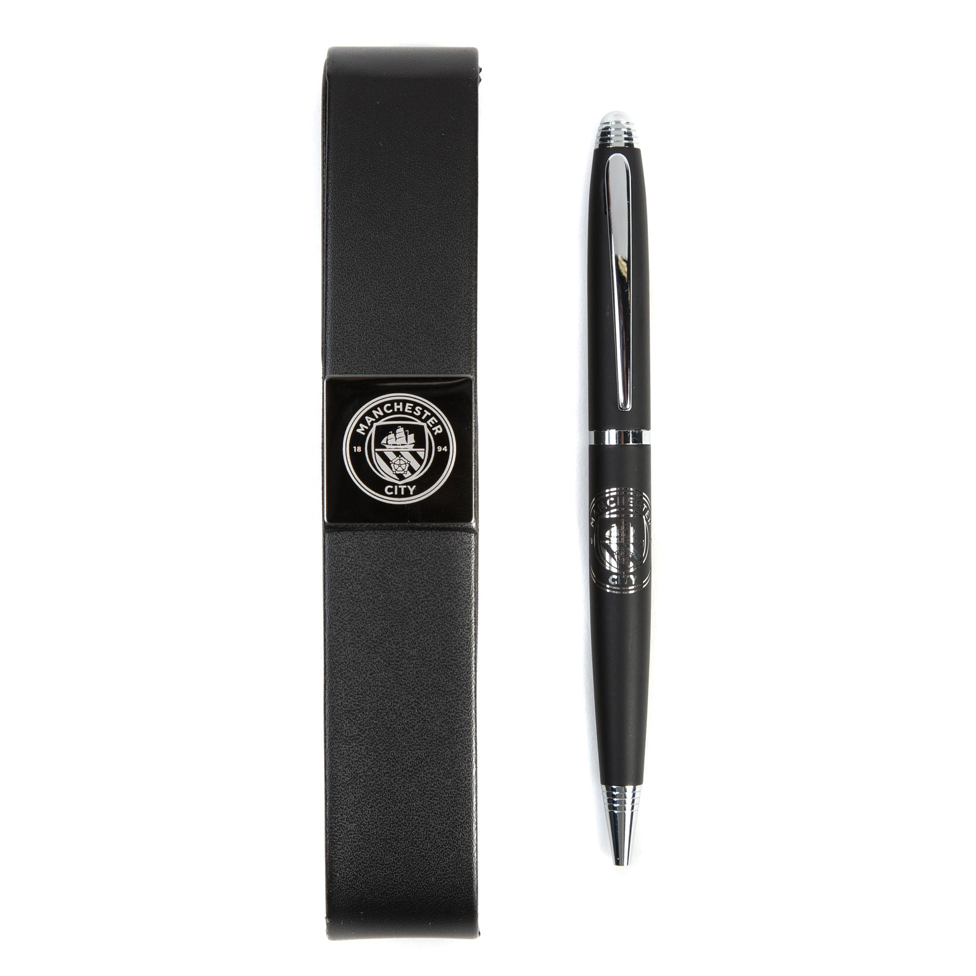 Manchester City Ballpoint Pen in Magnet Case