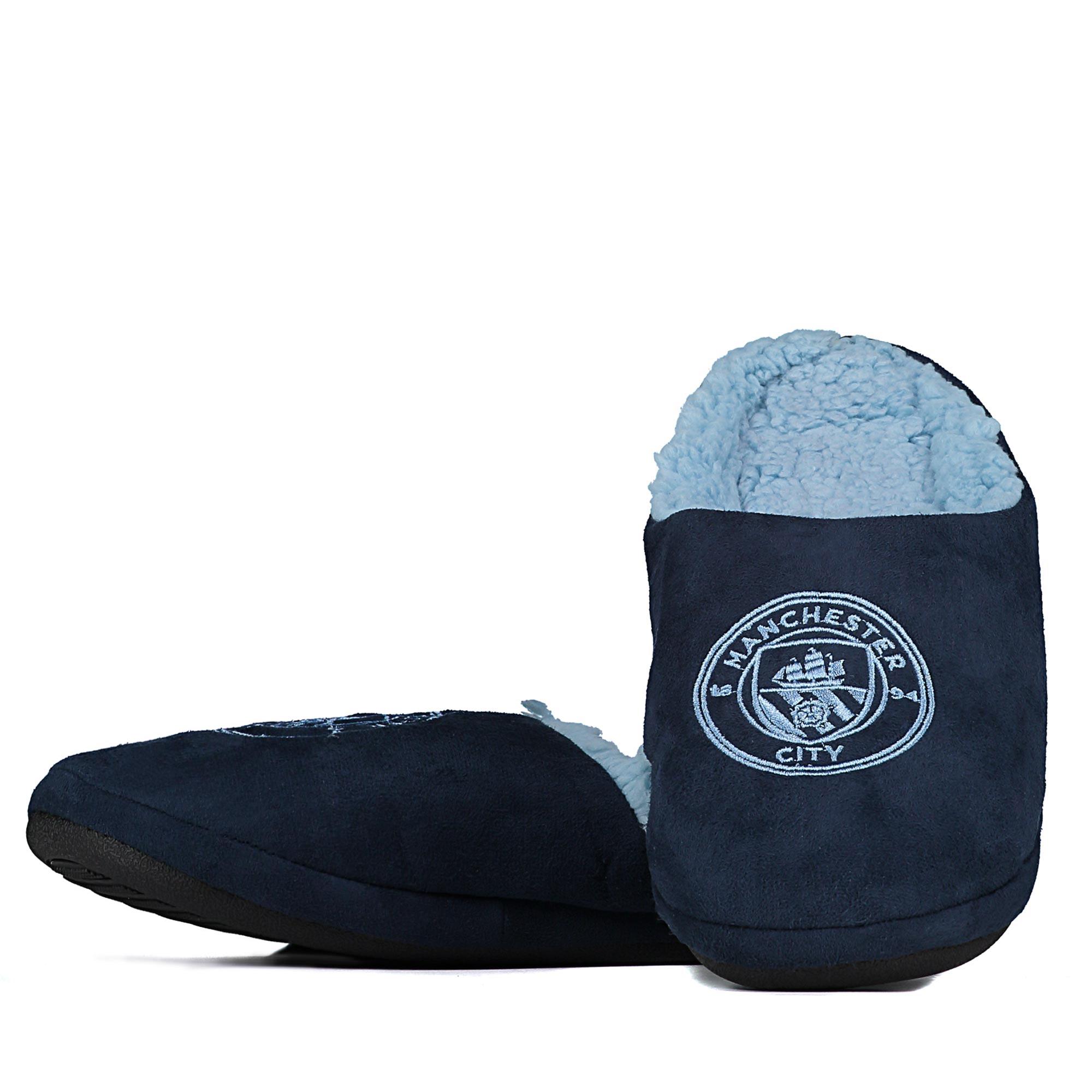 Manchester City Mule Slipper - Navy - Junior