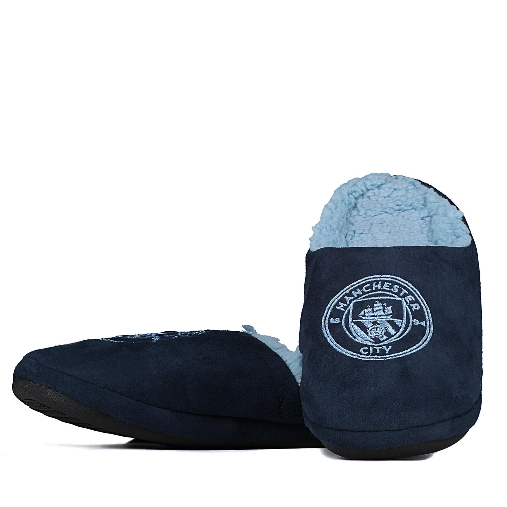 Manchester City Mule Slipper - Navy