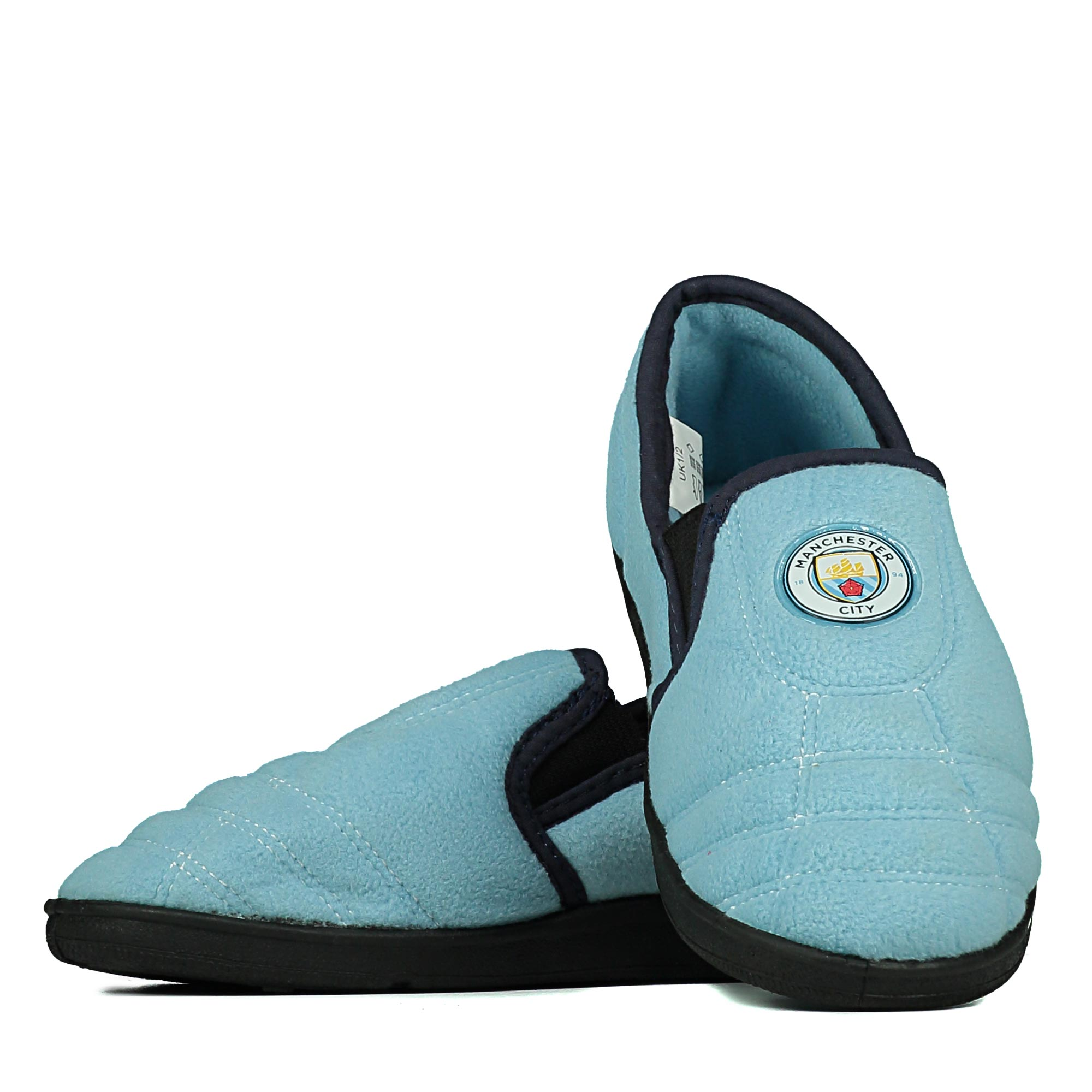 Manchester City Goal Heel Slipper - Sky - Infant