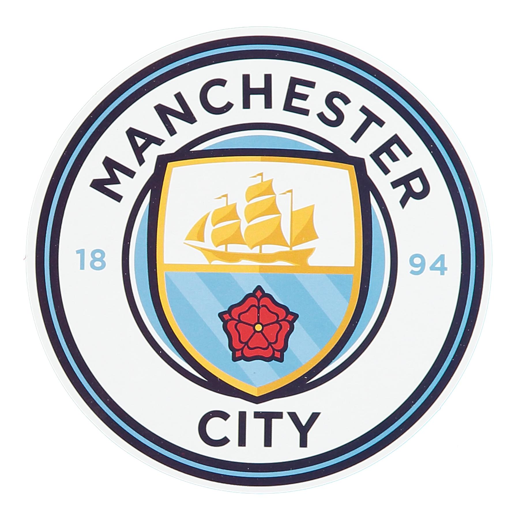 Manchester City Crest Car Sticker