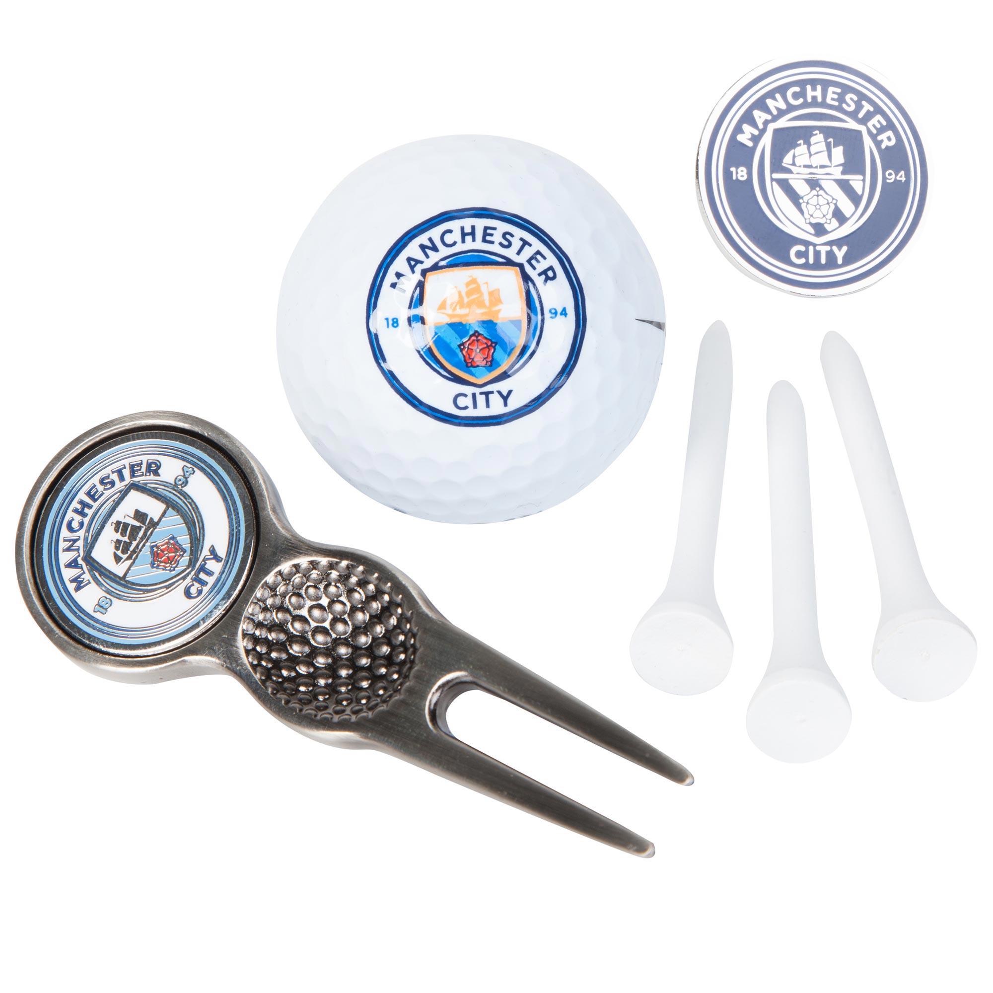 Manchester City Golf Gift Tube