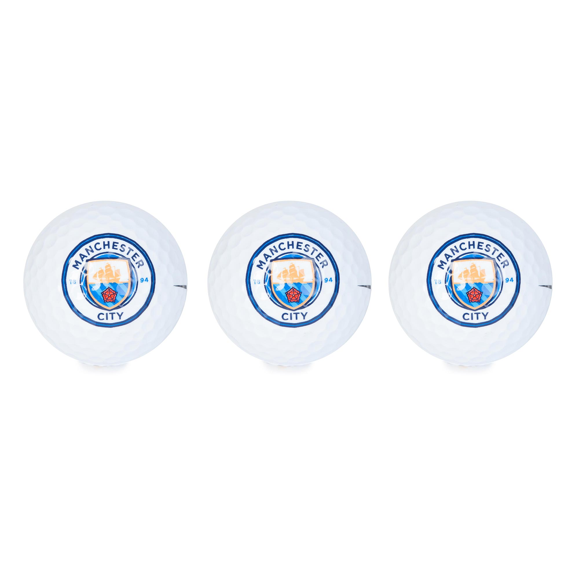 Manchester City Golf Balls - 3 Pack