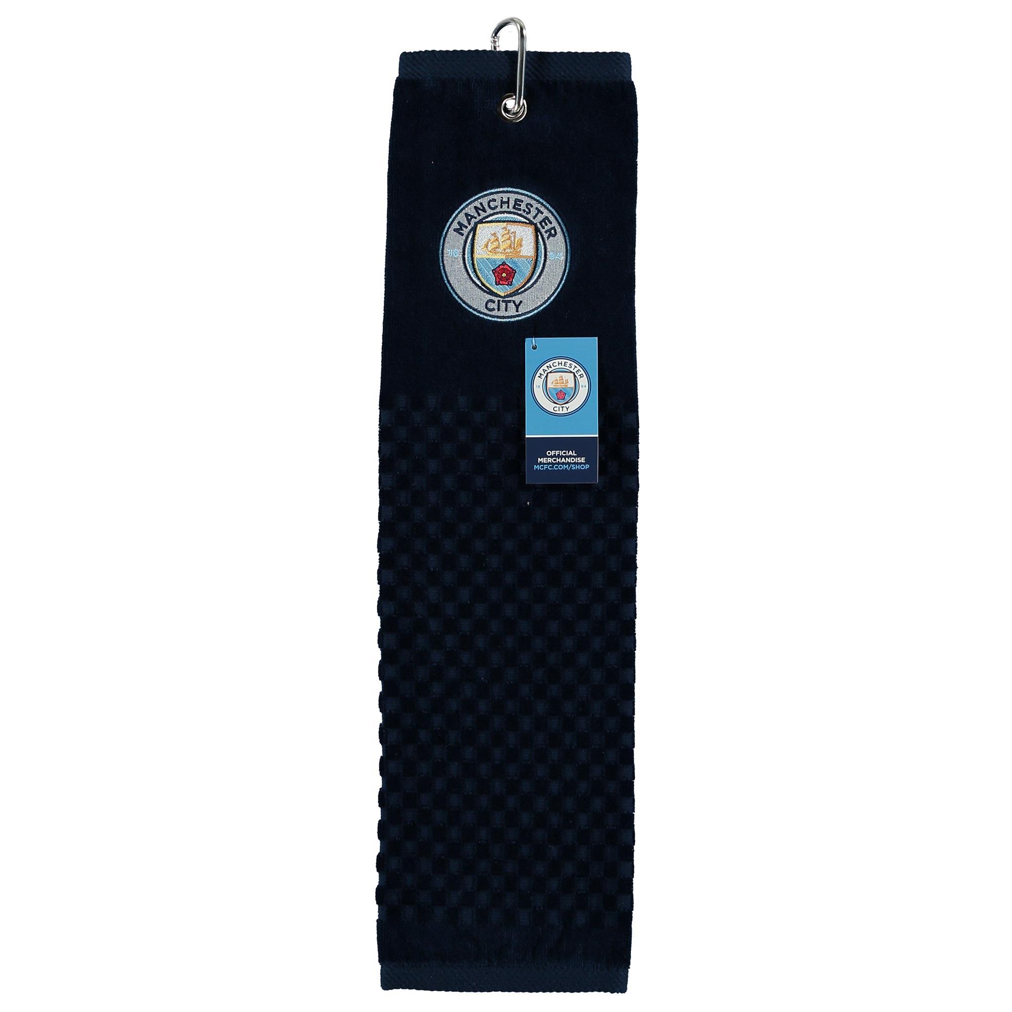 Manchester City Tri-Fold Golf Towel