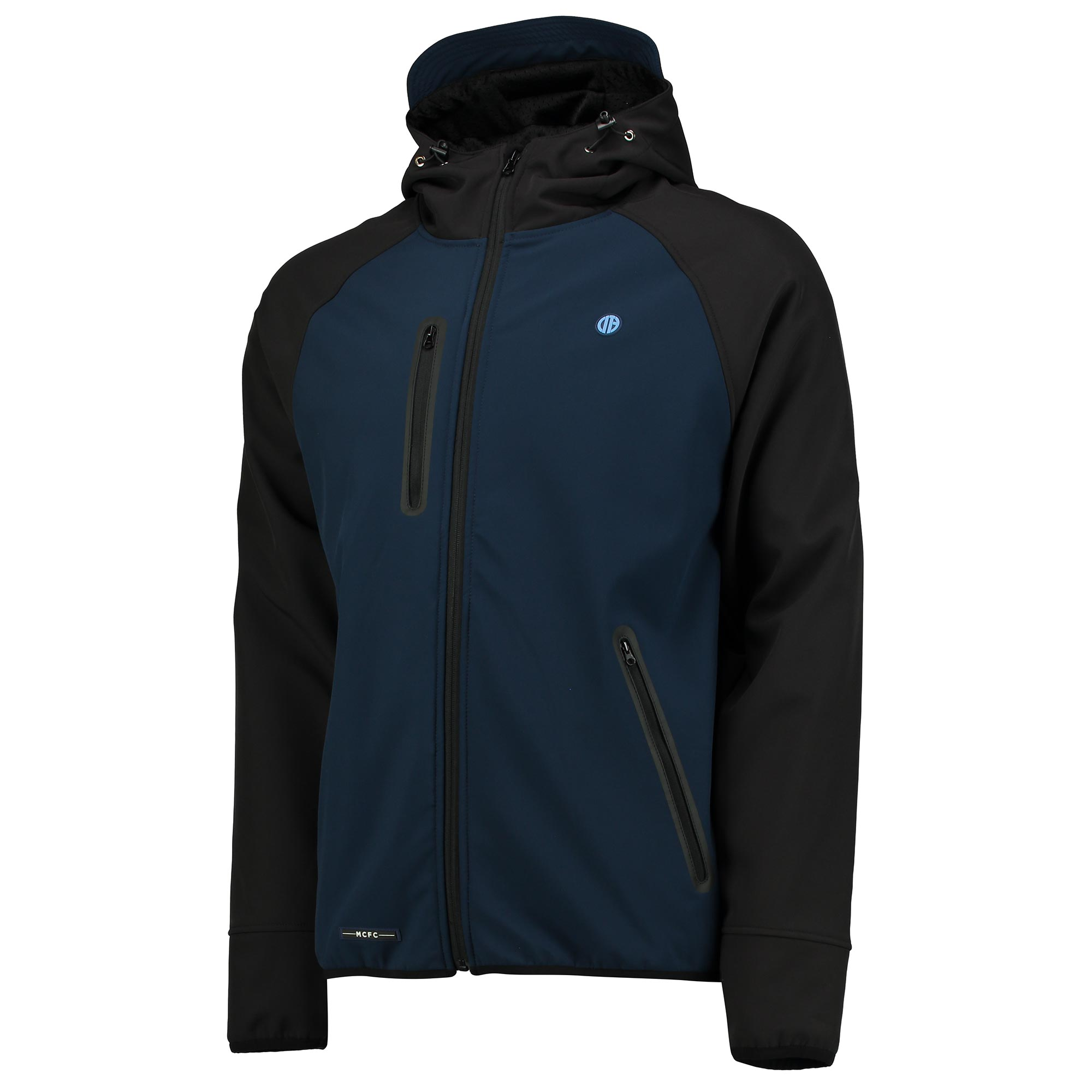 Manchester City Terrace Softshell Jacket - Navy/Charcoal