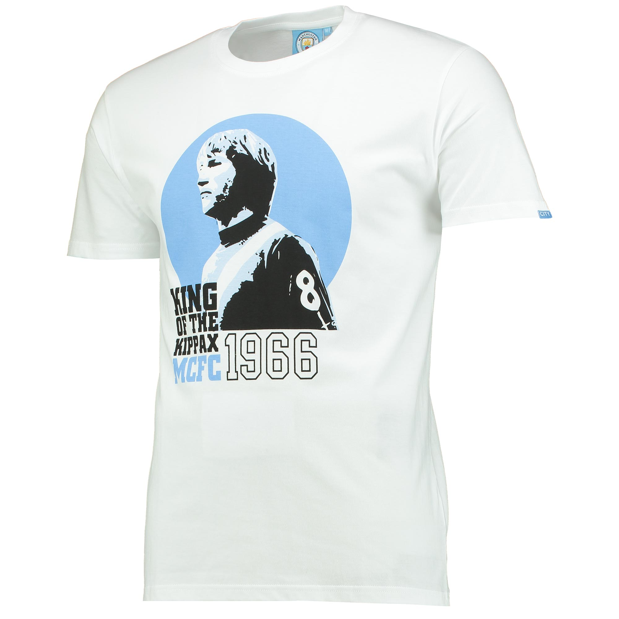 Manchester City King T-Shirt - White