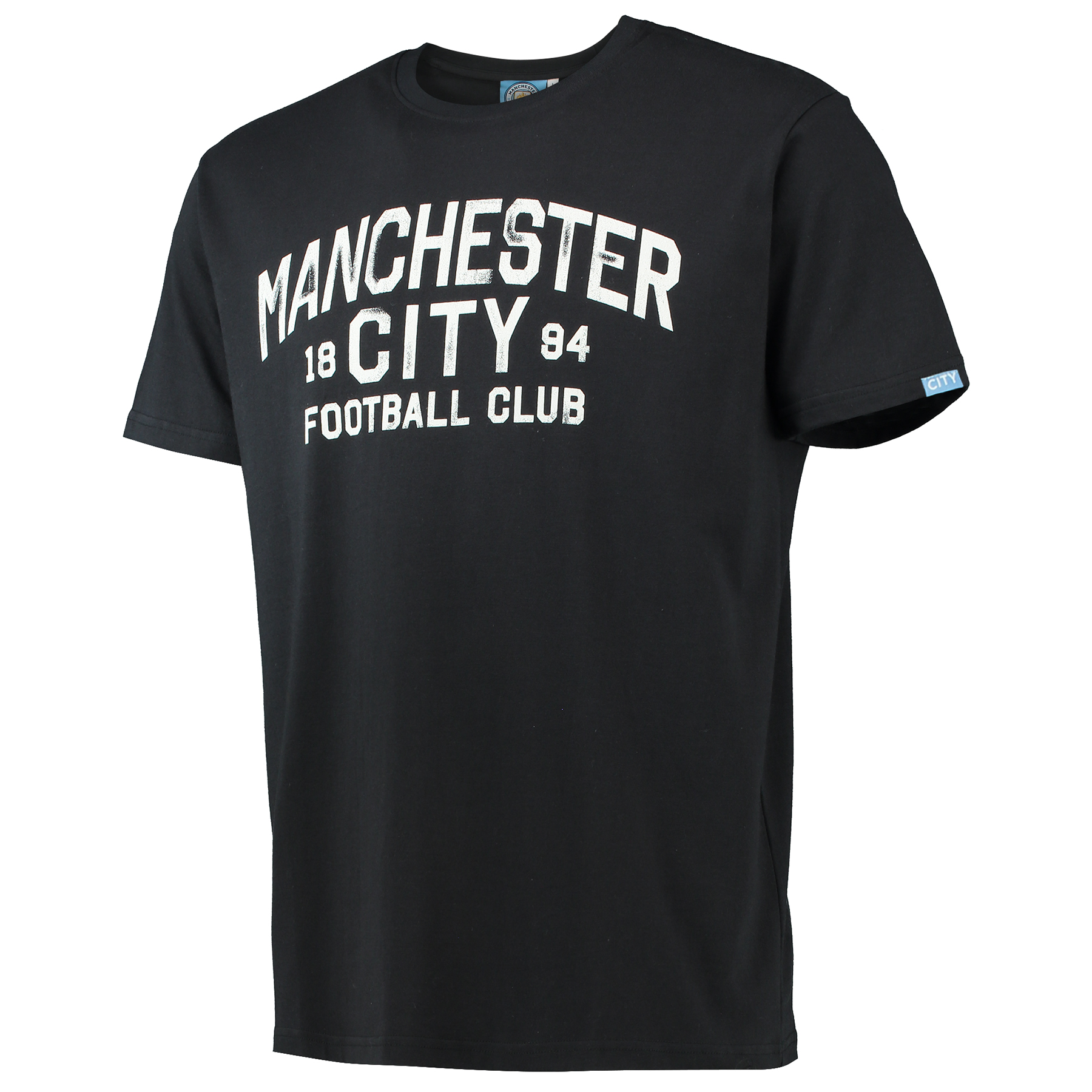 Manchester City Print T-Shirt - Black