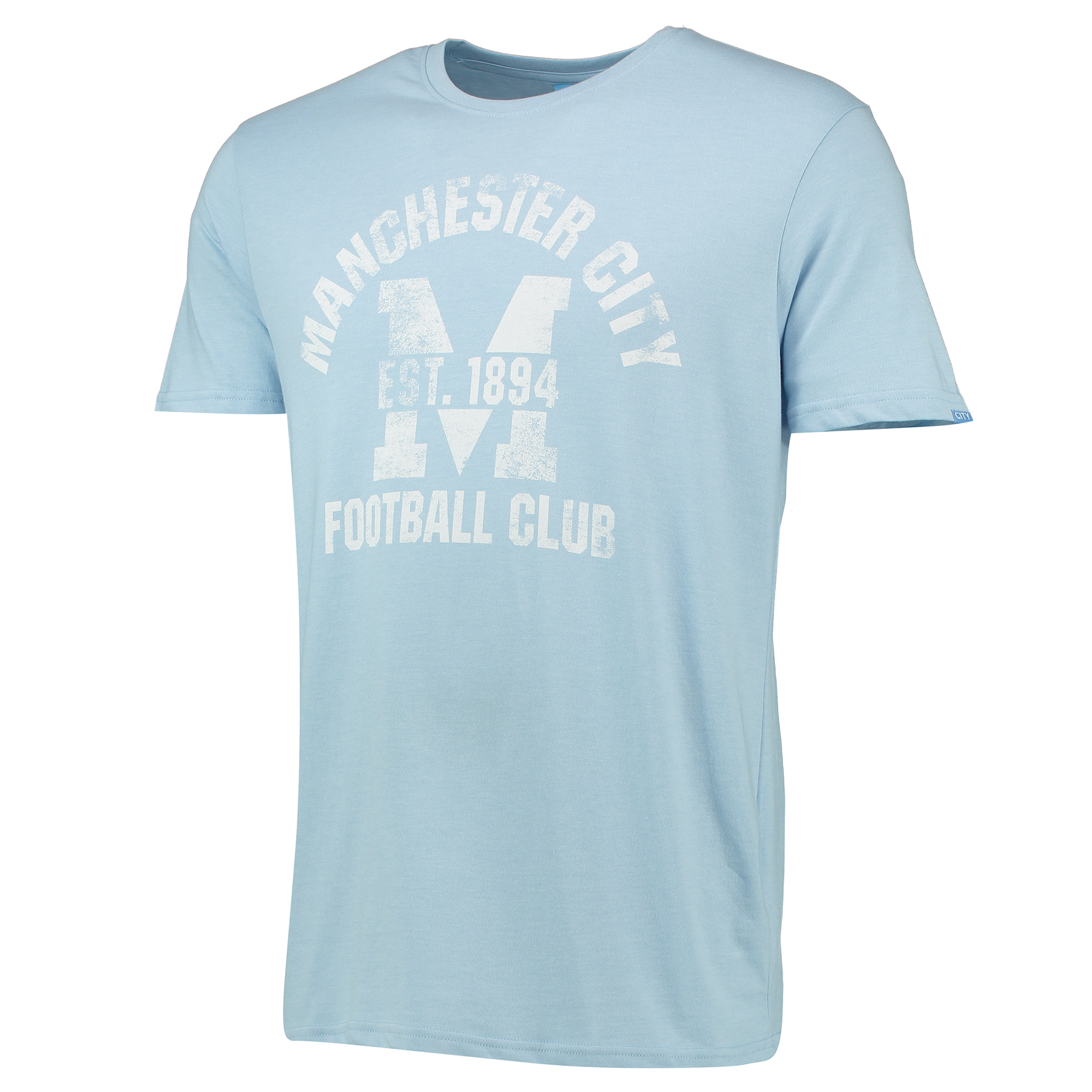 Manchester City M Graphic T-Shirt - Sky Marl