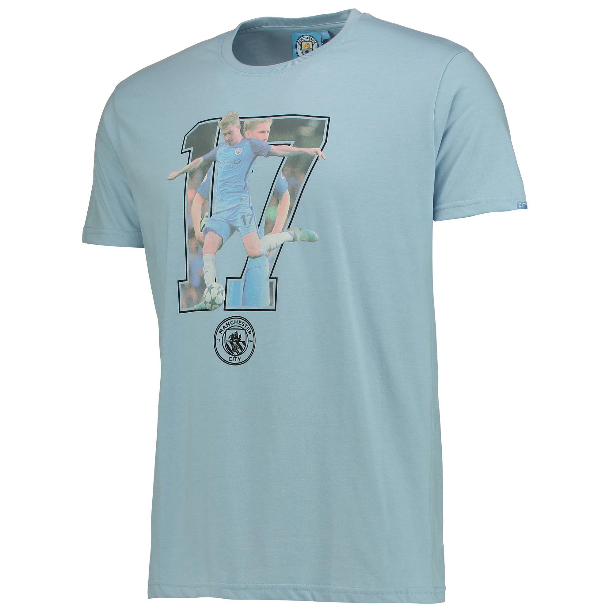 Manchester City De Bruyne T-Shirt - Sky Marl
