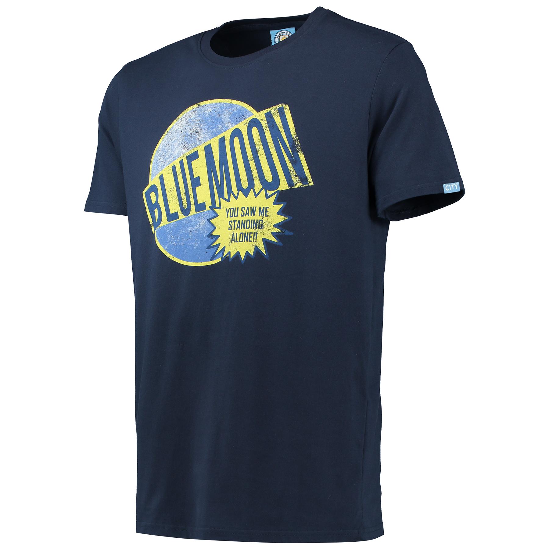 Manchester City Blue Moon T-Shirt - Navy