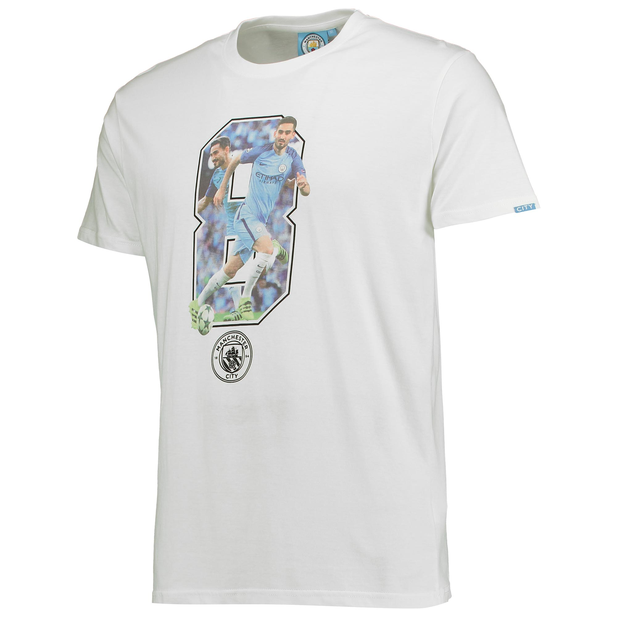 Manchester City Gundogan T-Shirt - White
