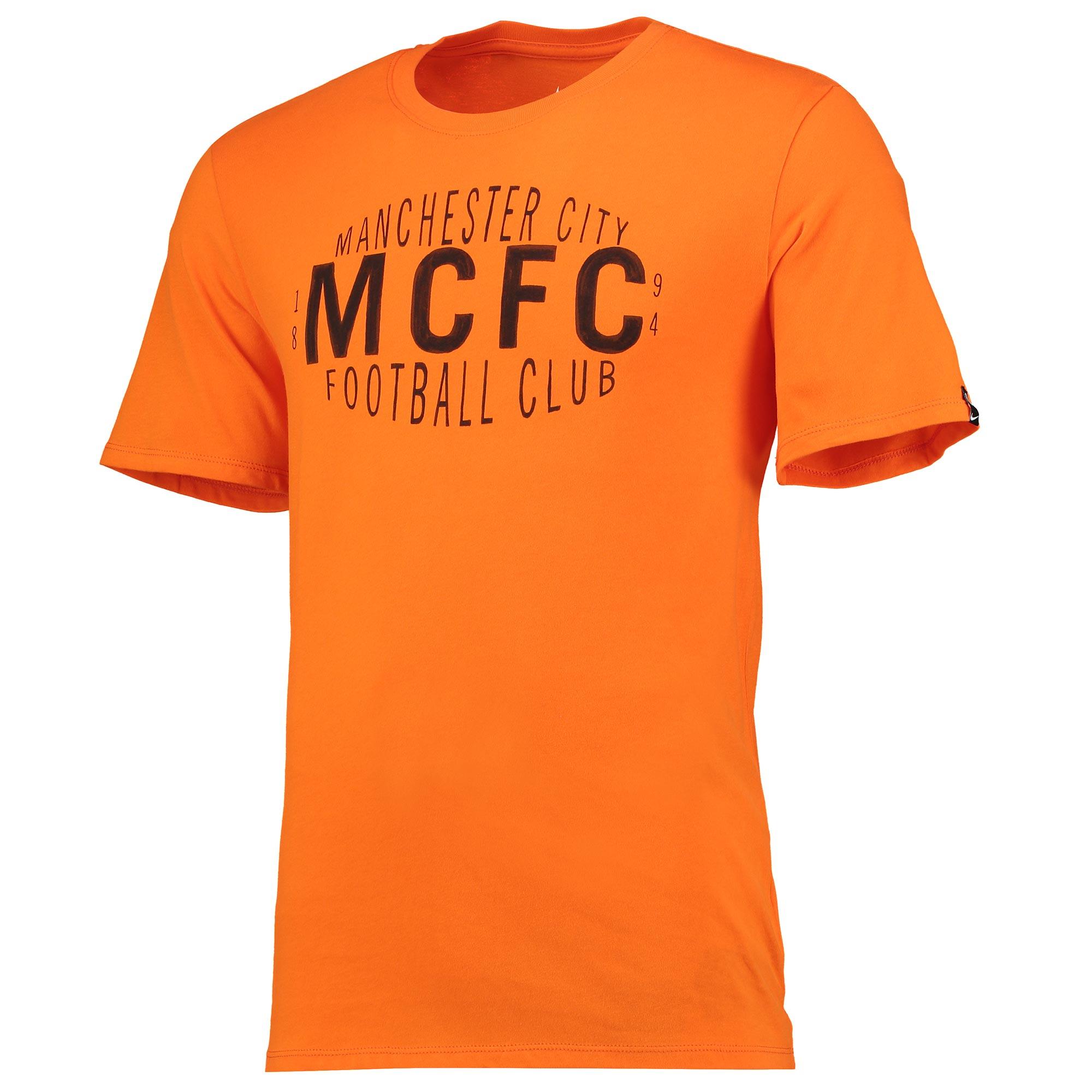 Manchester City Squad T-Shirt - Orange