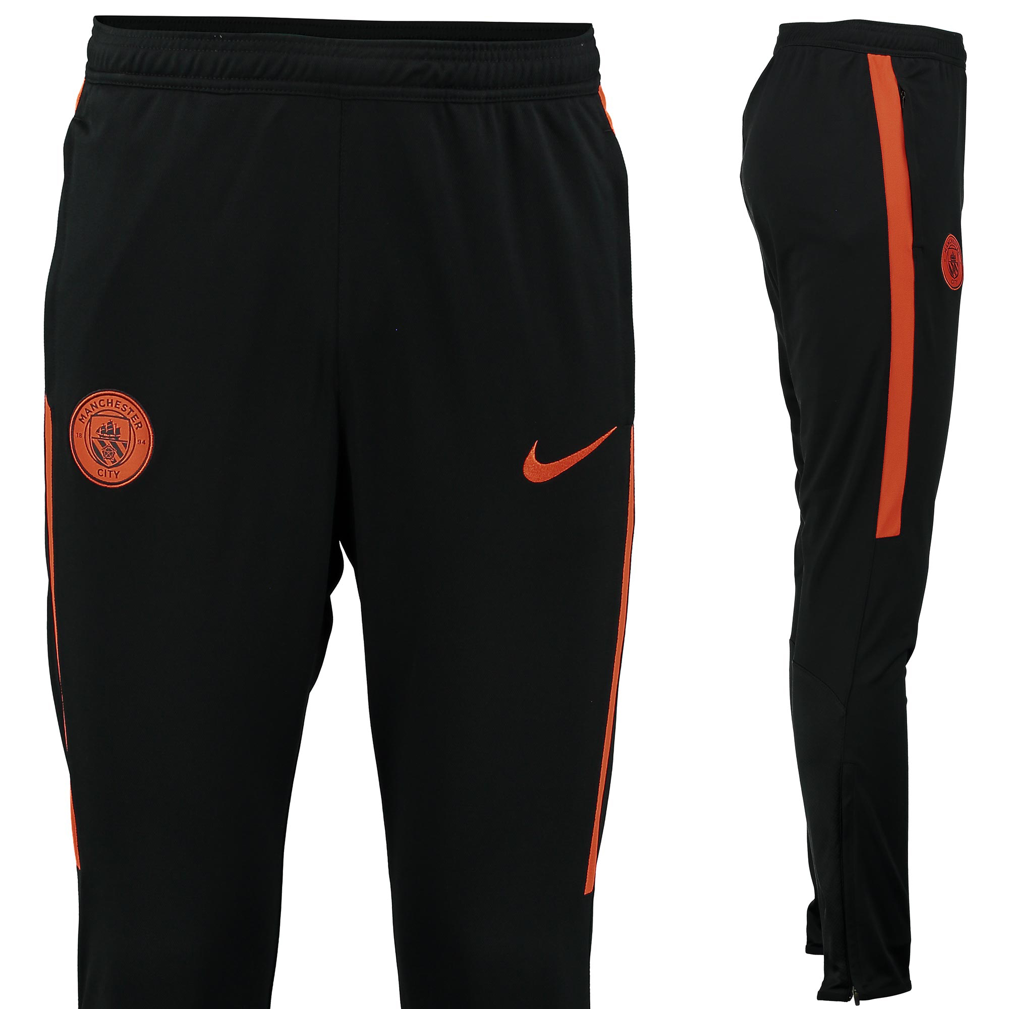 Manchester City Squad Knit Track Pant - Black