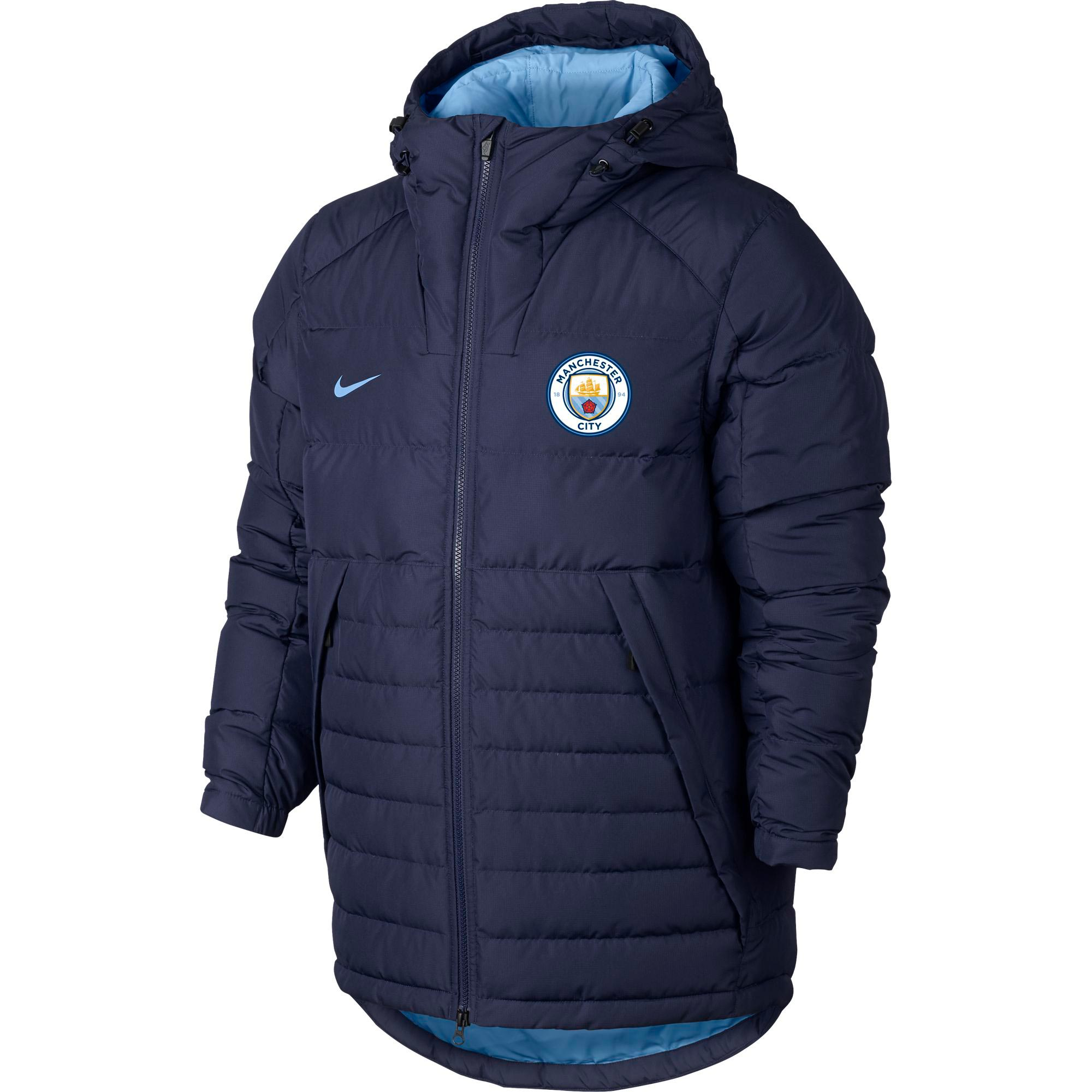 Manchester City Core Padded Jacket - Navy
