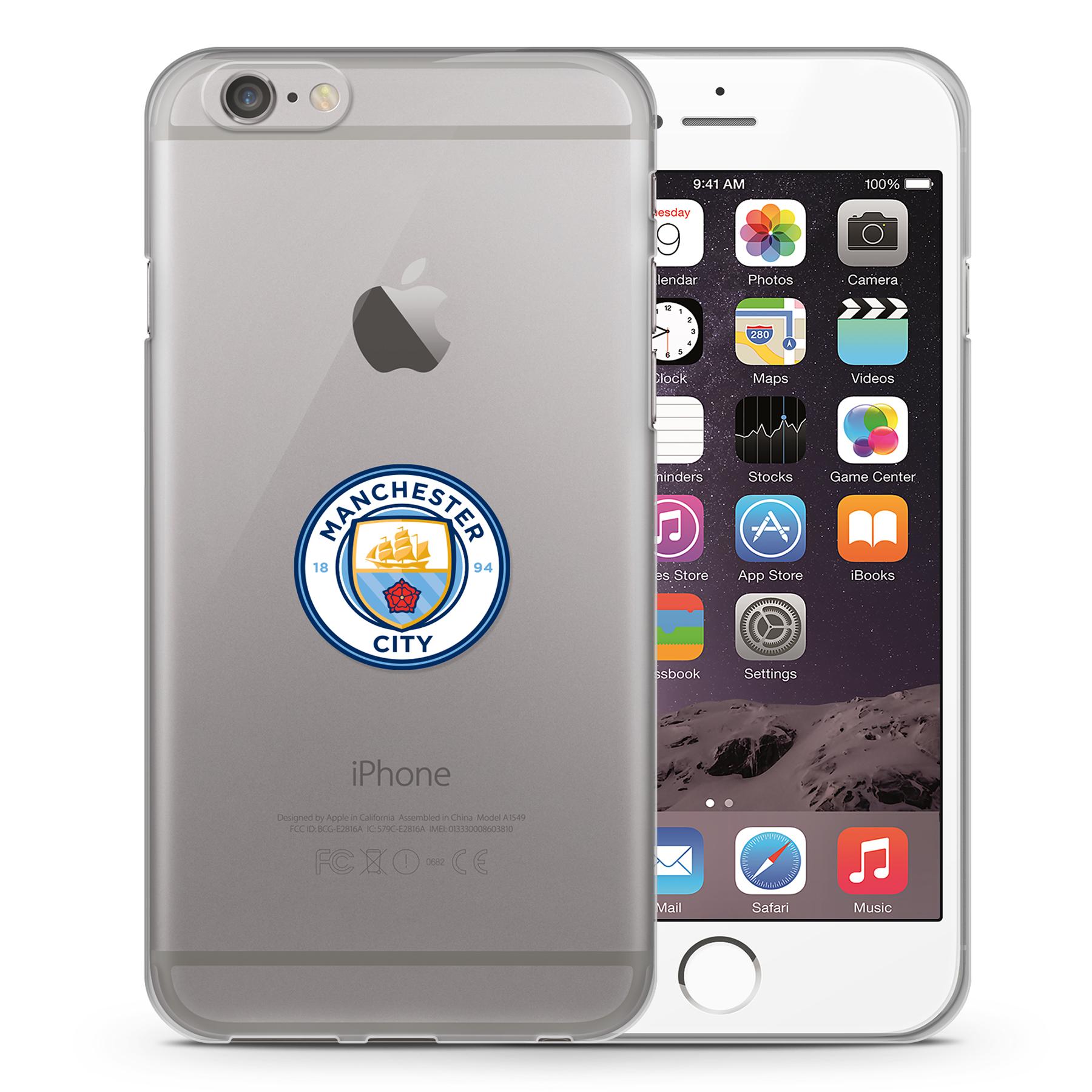 Manchester City iphone 6 TPU case - Clear