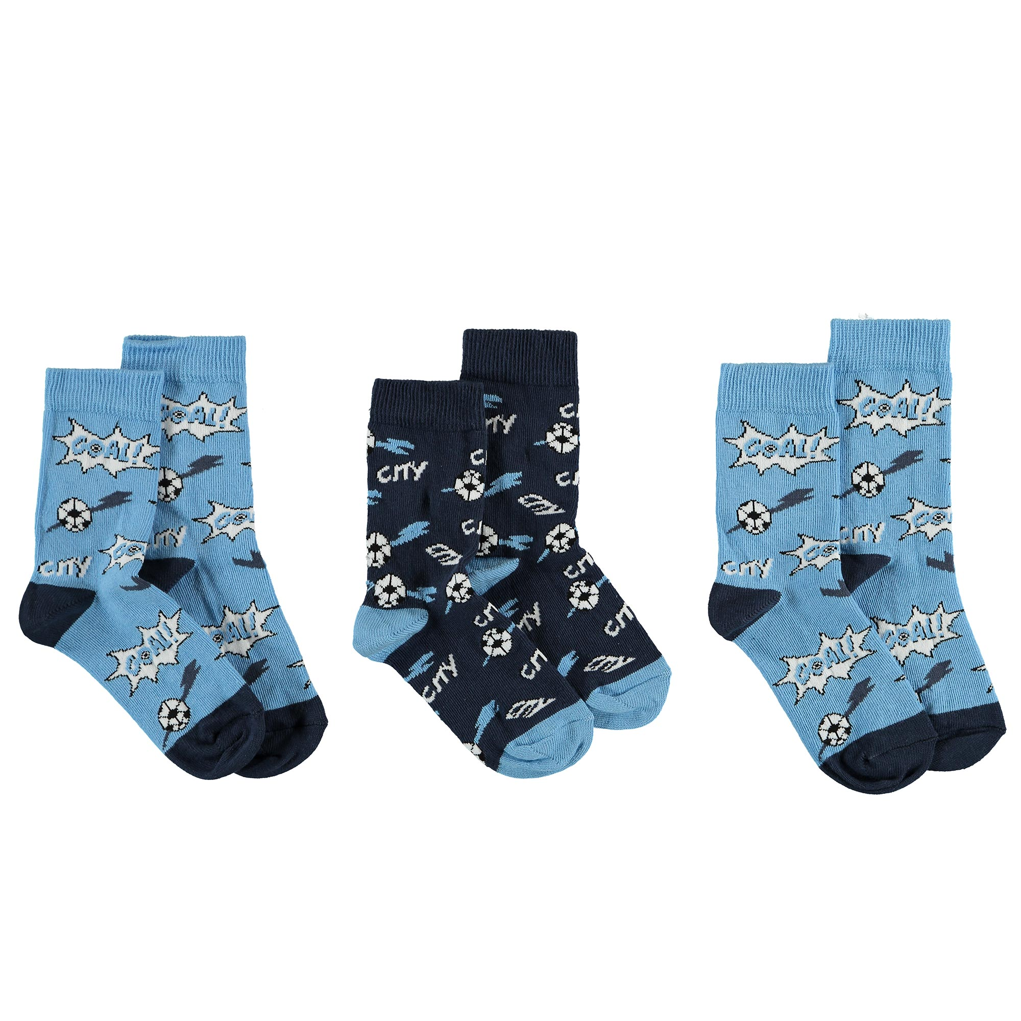 Manchester City Socks - Junior