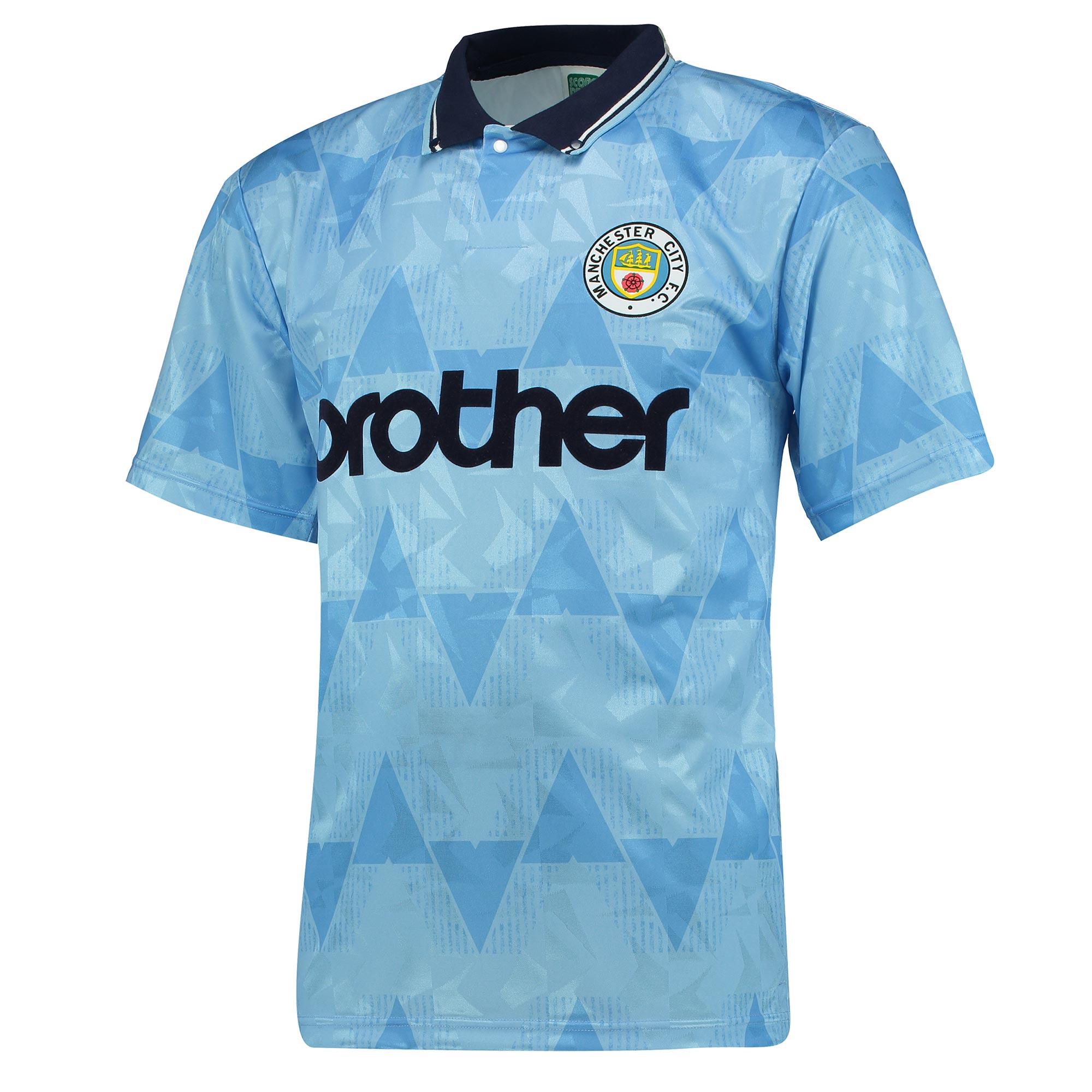 Manchester City 1989 Shirt