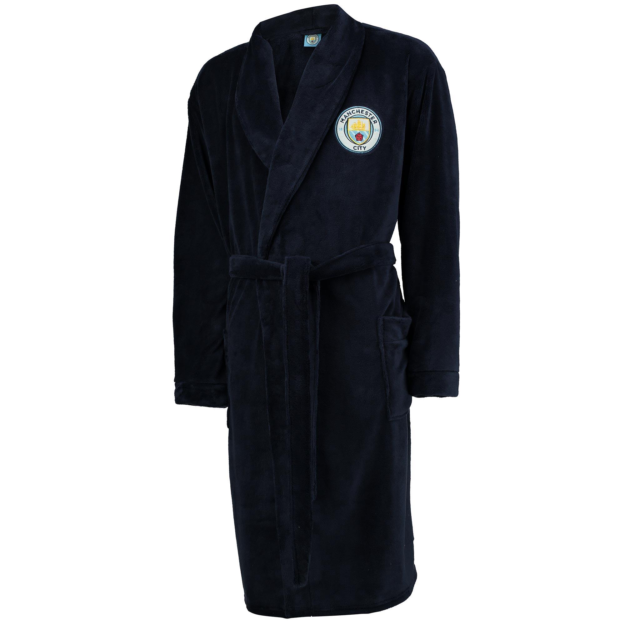 Manchester City Robe - Navy