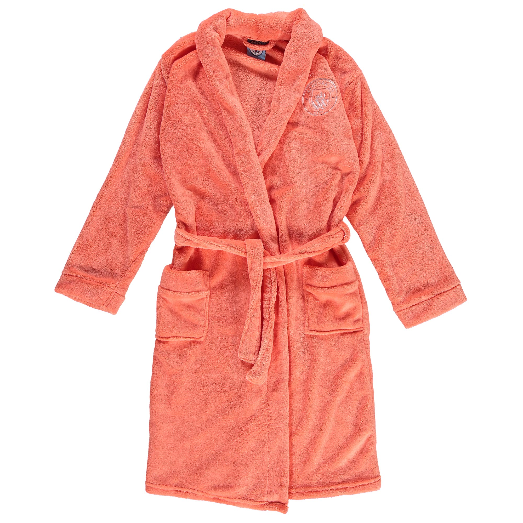 Manchester City Robe - Salmon Pink - Girls