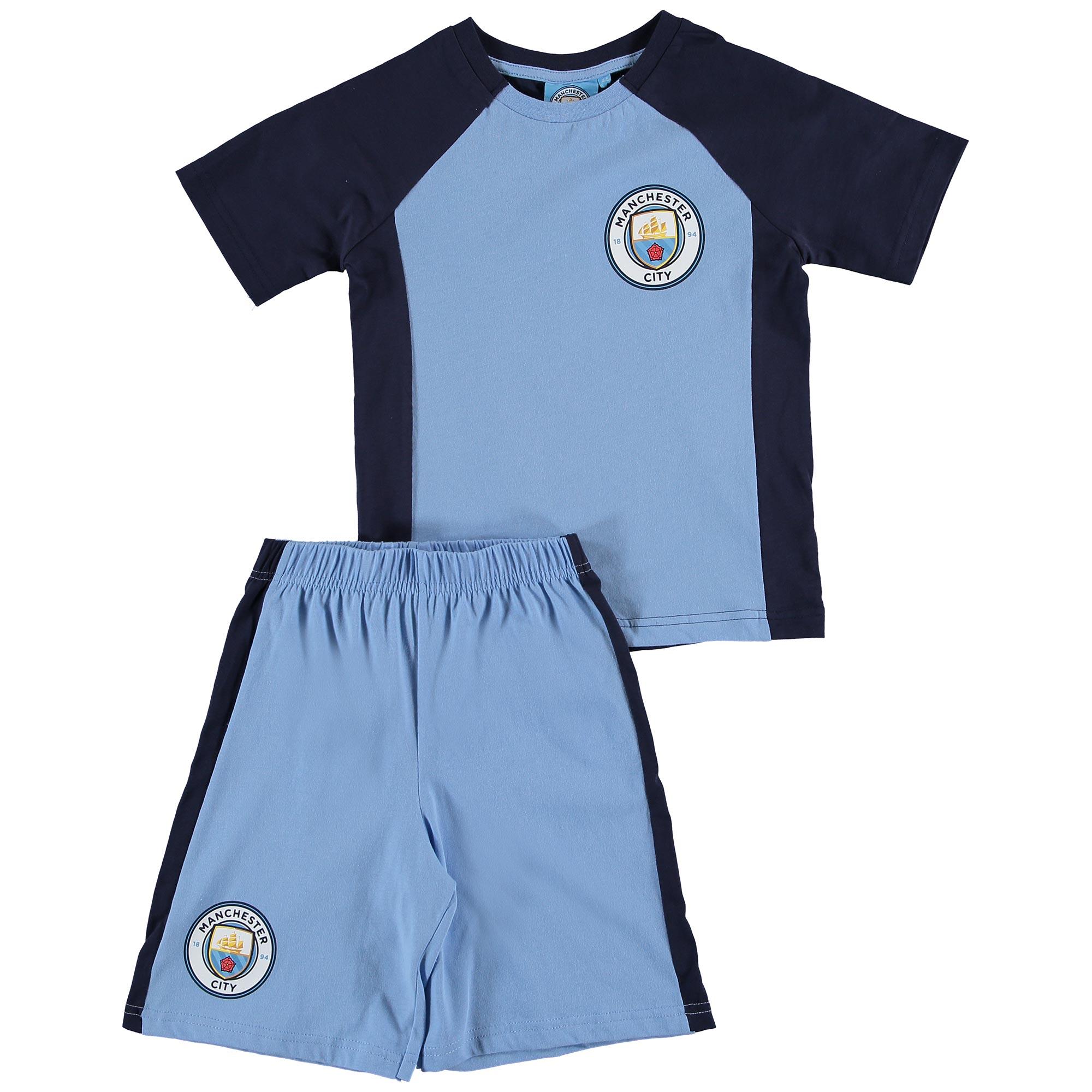 Manchester City Kit Pyjama  - Sky - Junior