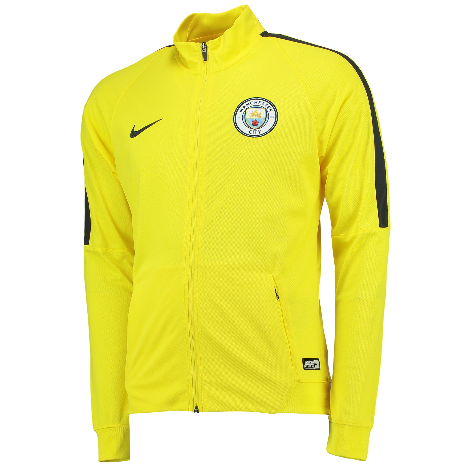 Manchester City Squad Track Jacket - Yellow