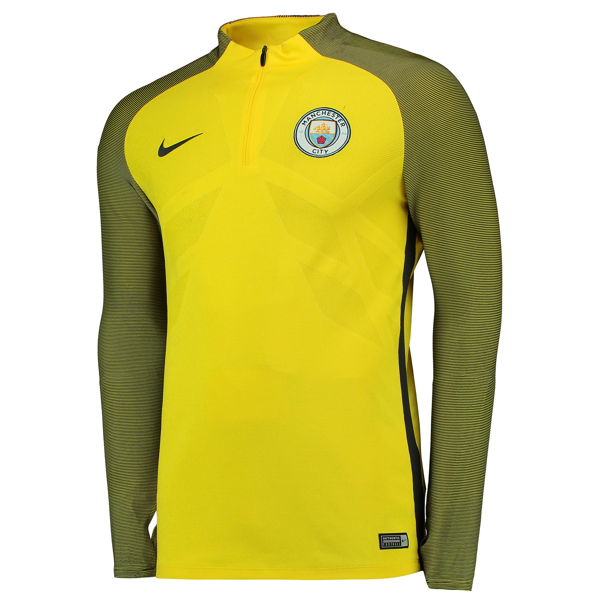 Manchester City Strike Drill Top - Yellow