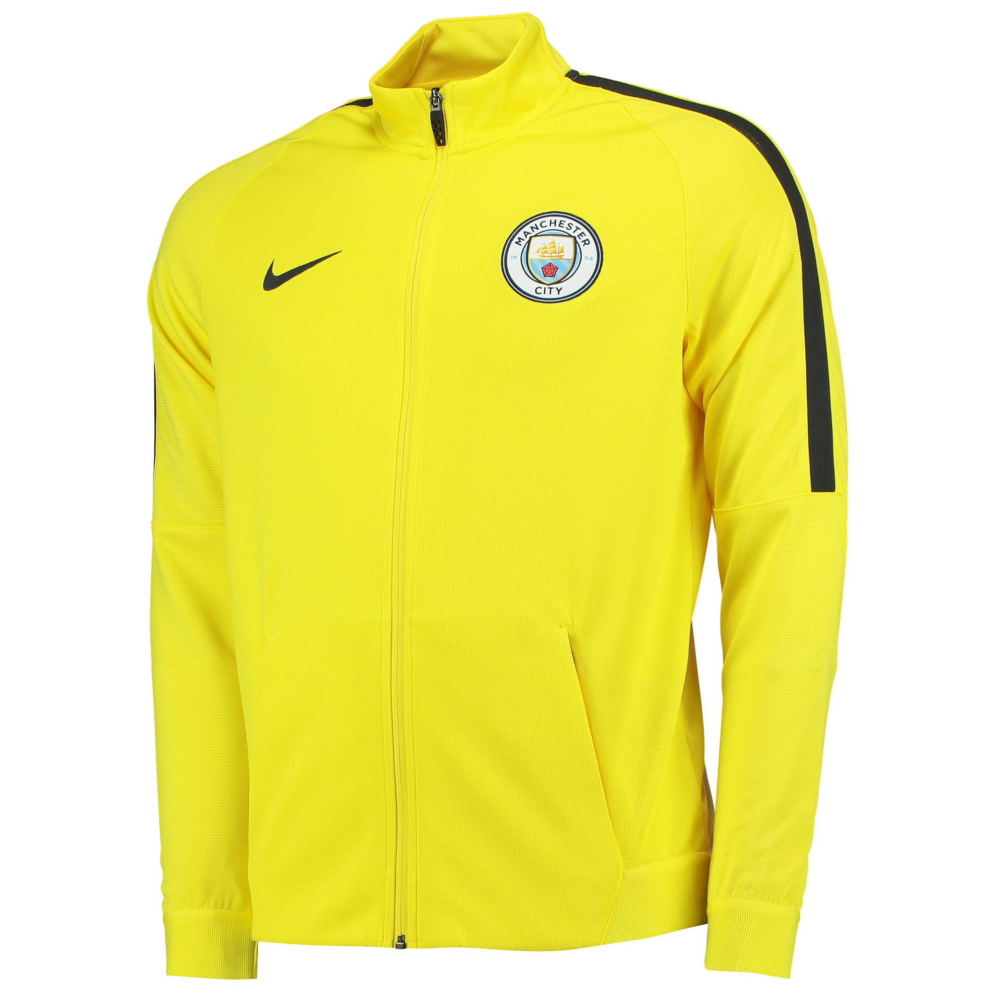 Manchester City Strike Track Jacket - Yellow